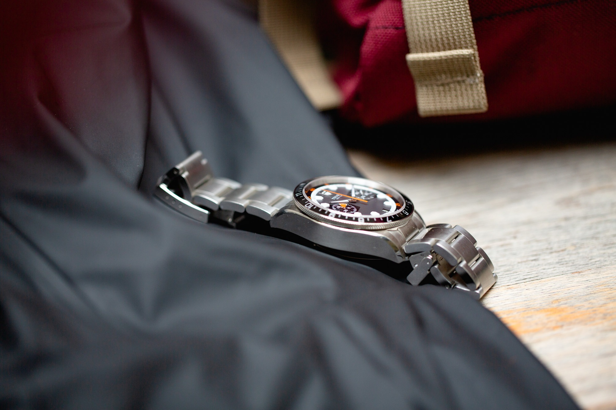 Tudor Heritage Chronographe - Cadran Gris et Noir