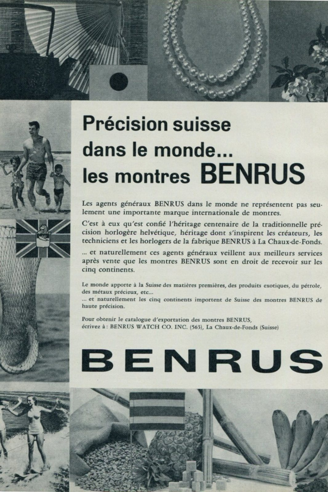 Publicité Benrus