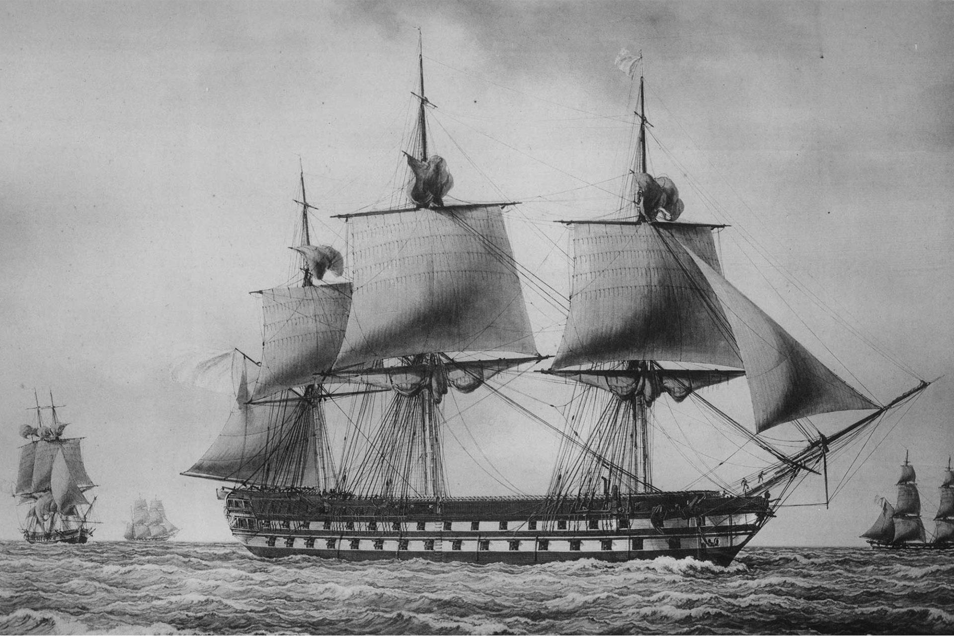 Navire Le Conquérant - Premier Empire