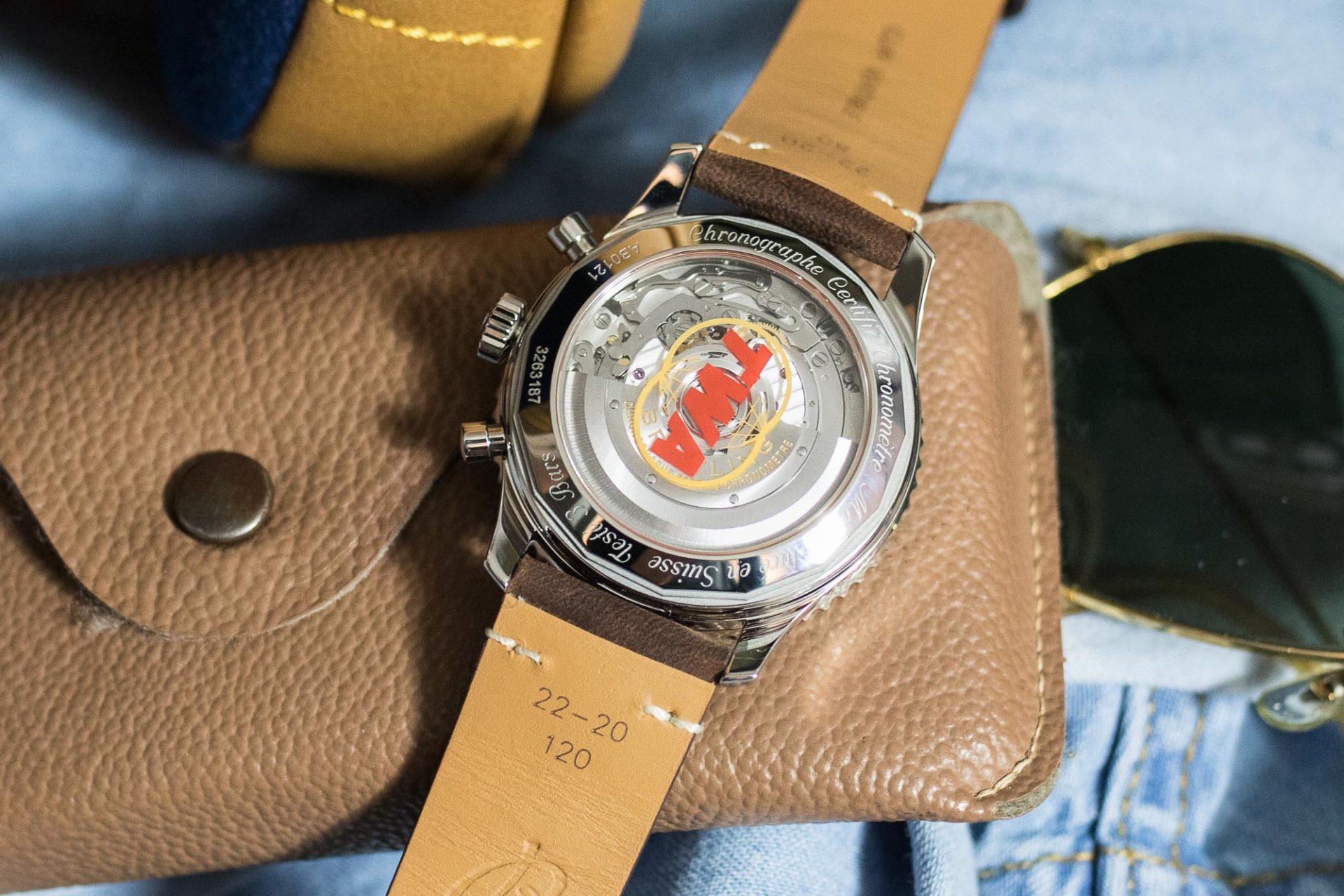 Breitling Navitimer B01 Chronograph 43 Airline Edition TWA - Baselworld 2019