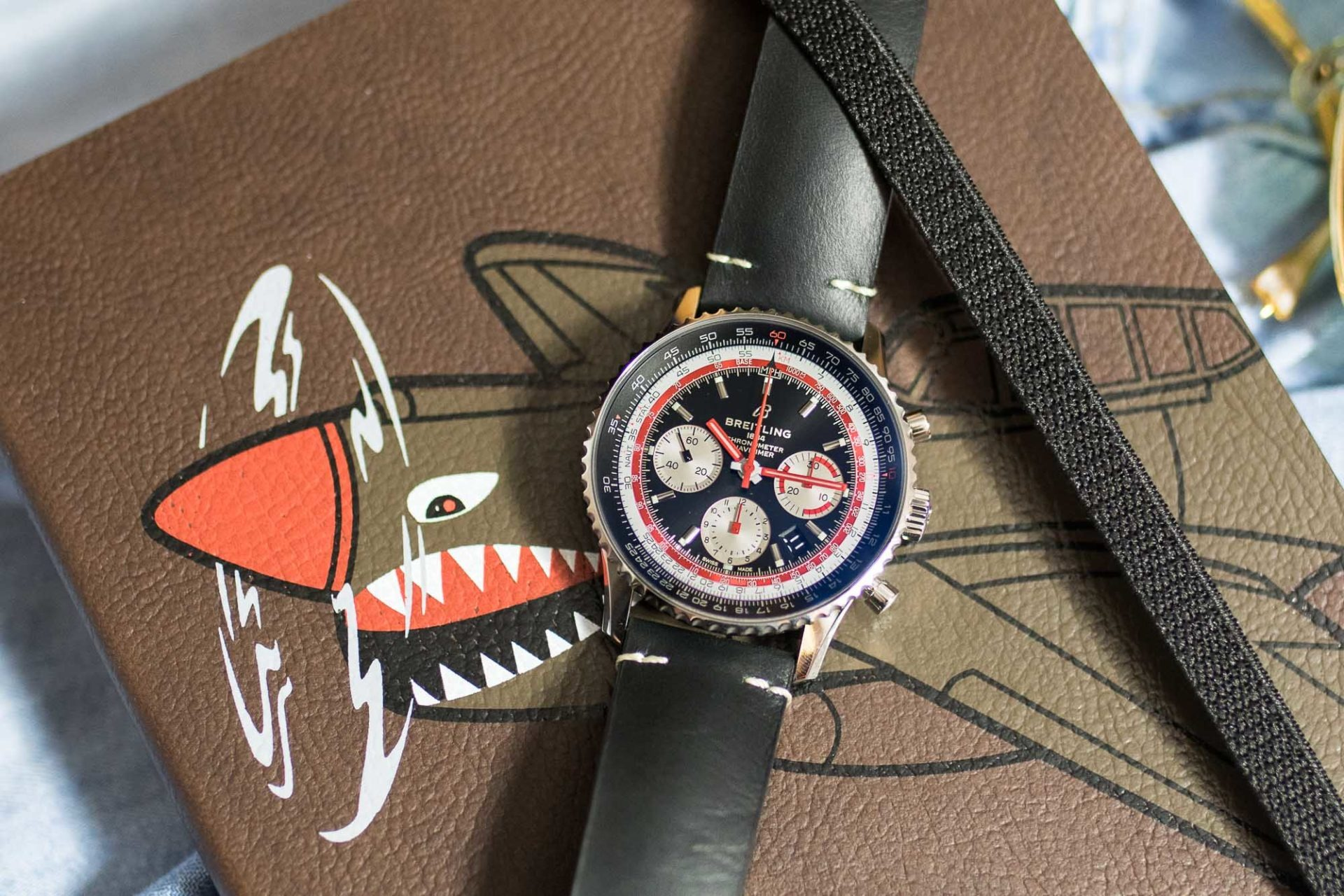 Breitling Navitimer B01 Chronograph 43 Airline Edition Swissair - Baselworld 2019