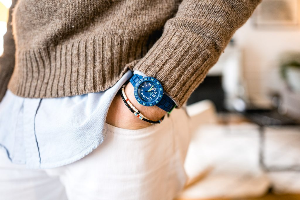 Montre suisse Flik Flak - Solo Blue