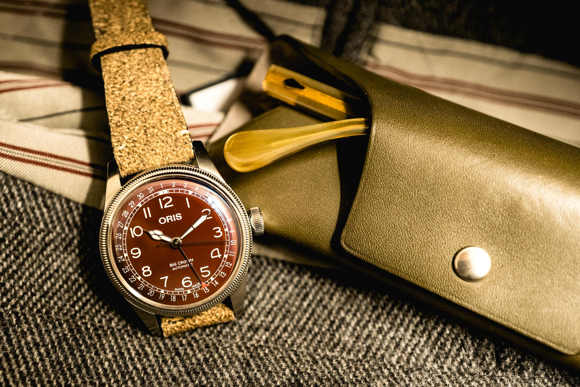 Oris Big Crown Cadran rouge - Baselworld 2019