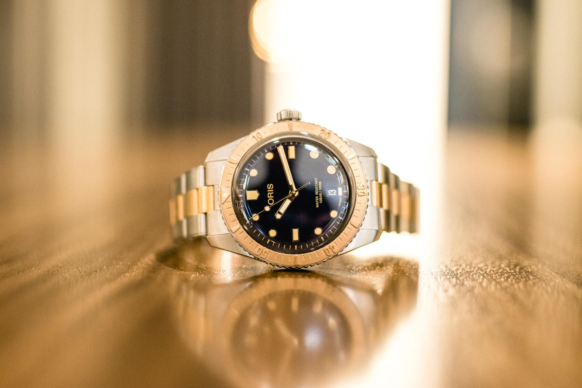 Oris Divers Sixty-Five Bronze et acier - Baselworld 2019