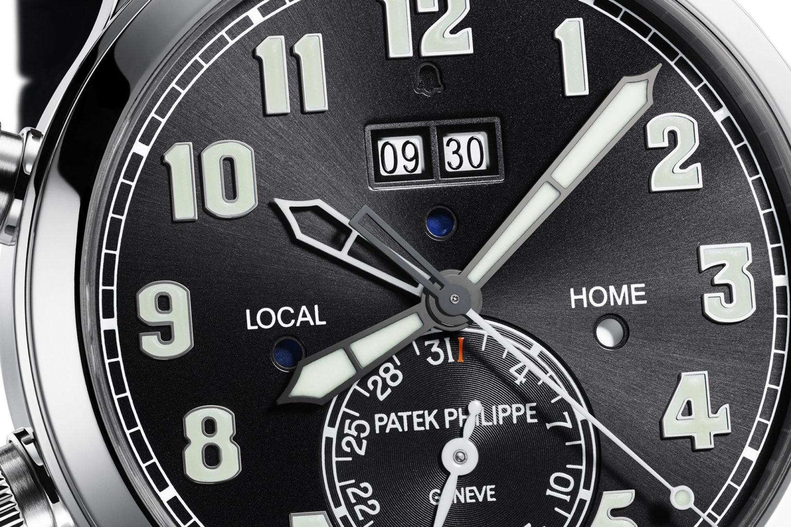Patek Philippe Alarm- Travel Time 5520P-001 - Cadran