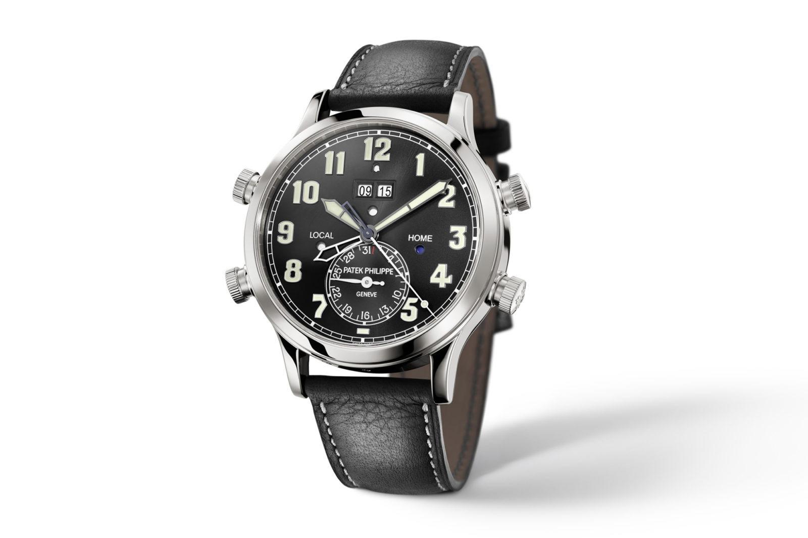 Patek Philippe Alarm- Travel Time 5520P-001