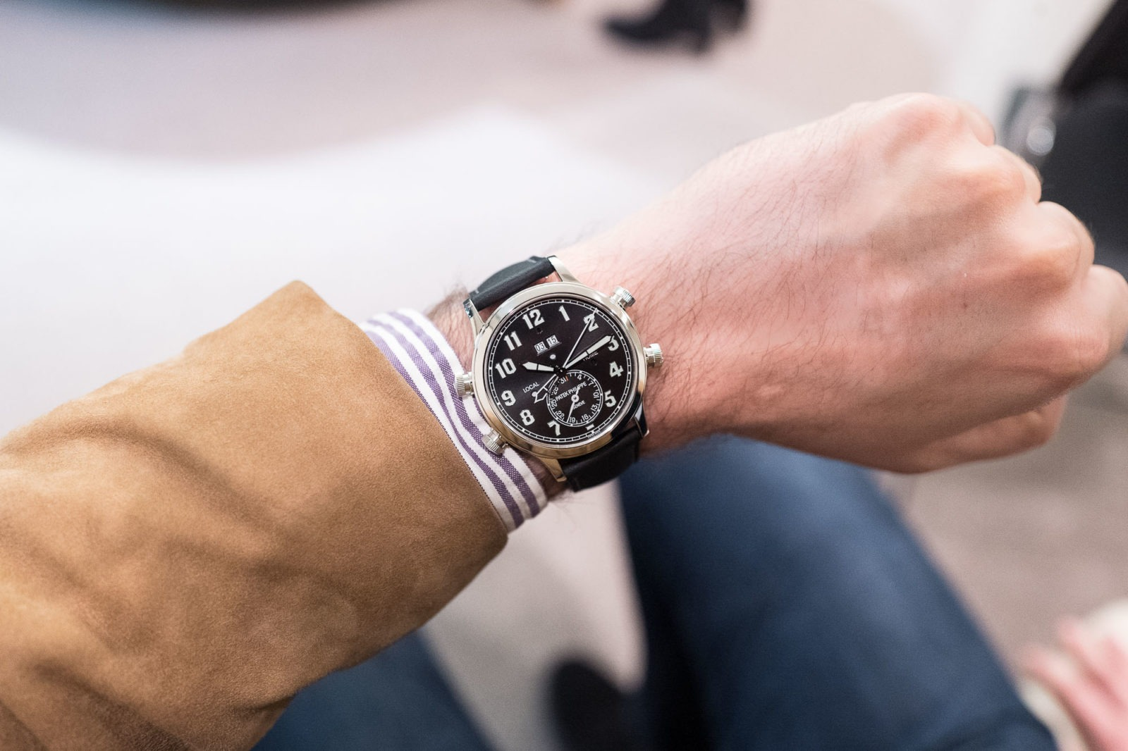 Patek Philippe Alarm- Travel Time 5520P-001 - Style