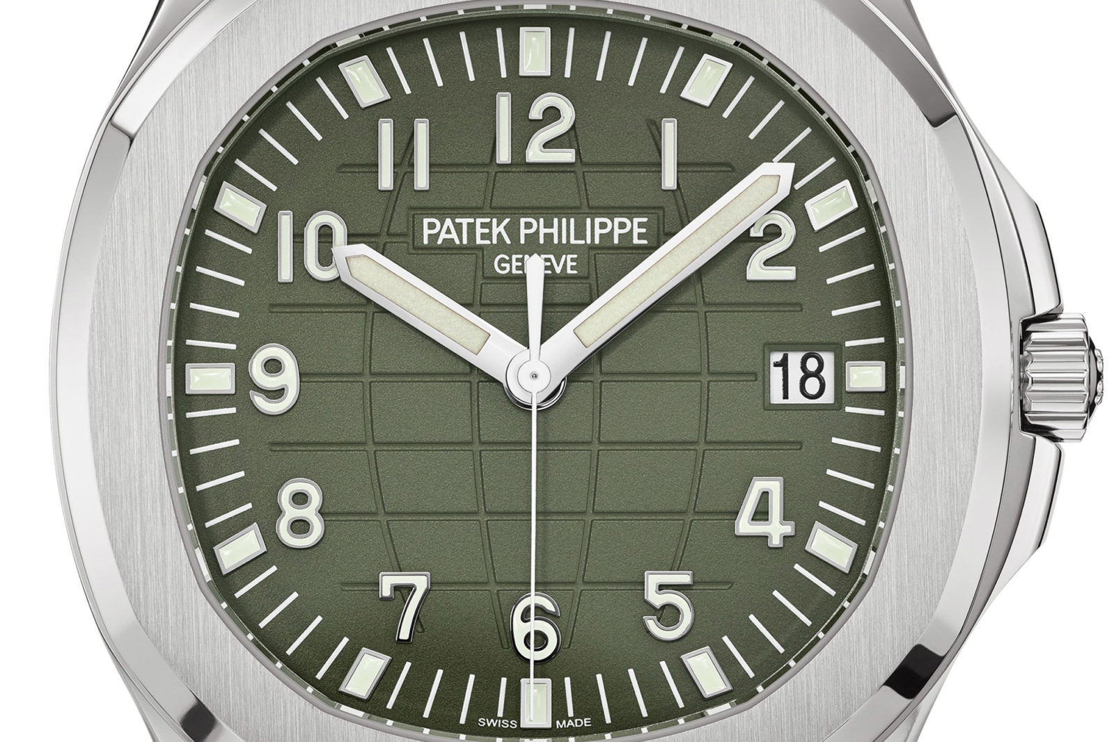 Patek Philippe Aquanaut 5168G Vert/Khaki