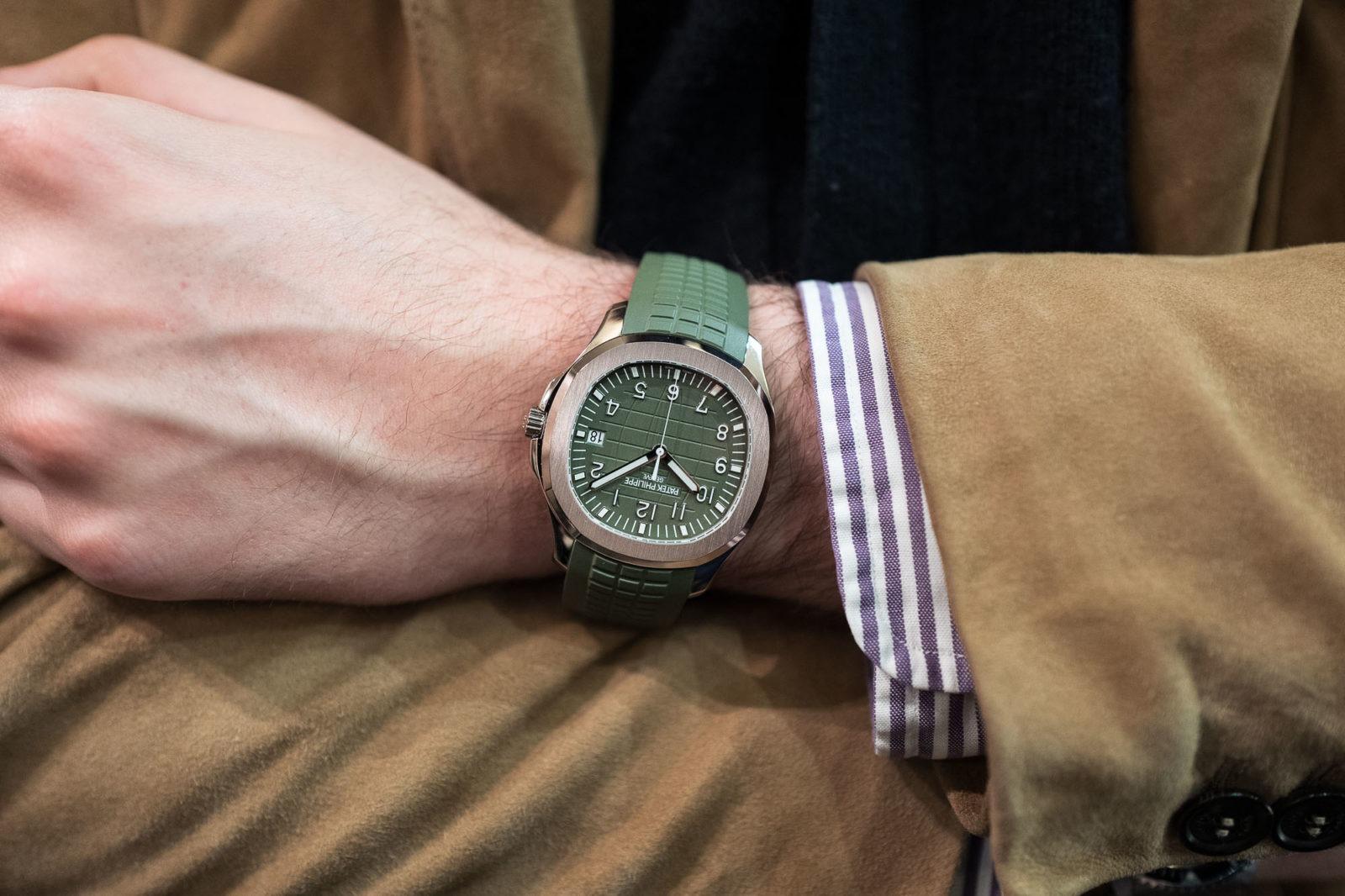 Patek Philippe Aquanaut 5168G Vert/Khaki - Style