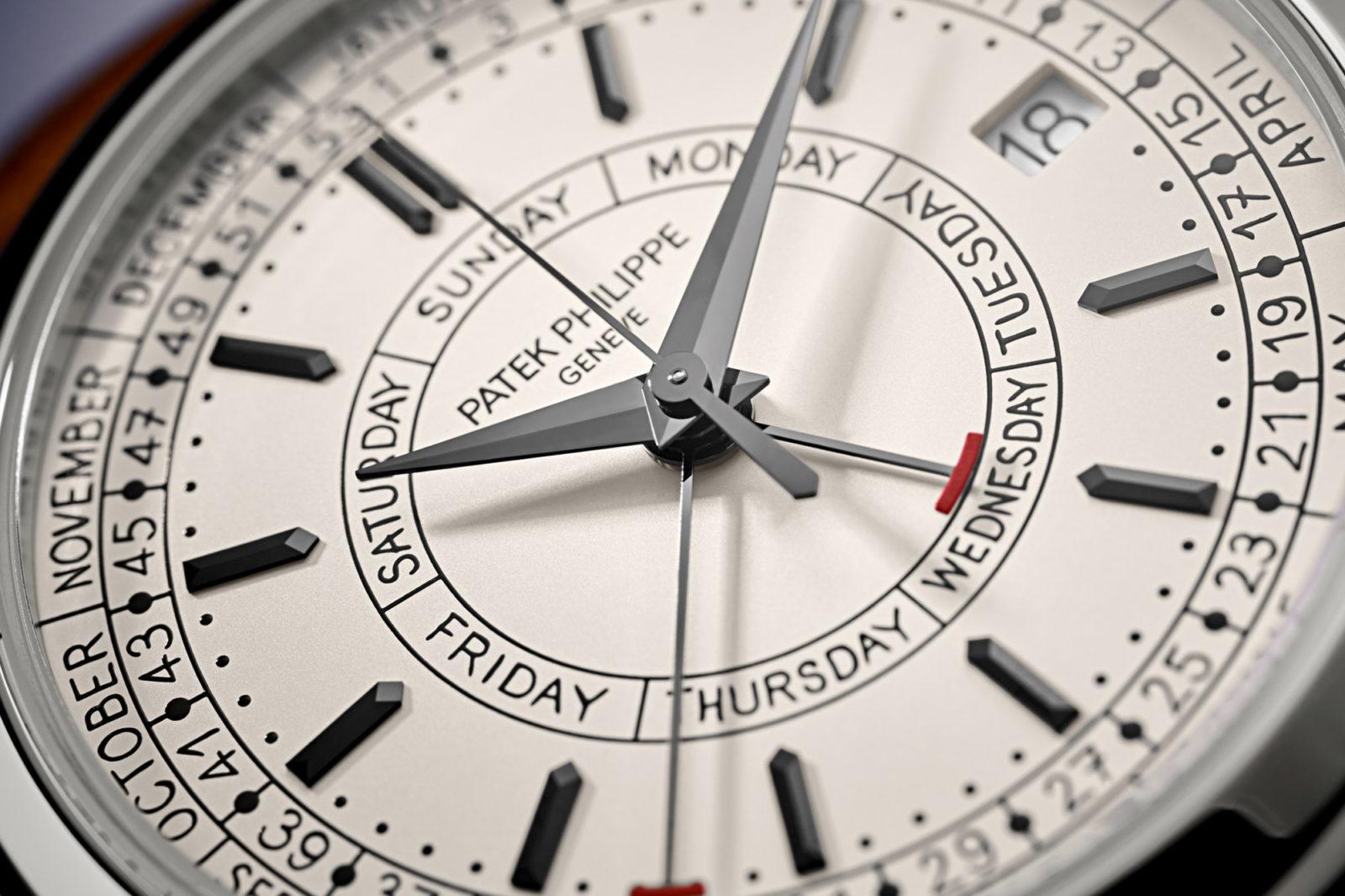 Patek Philippe Weekly Calendar 5212A - Cadran