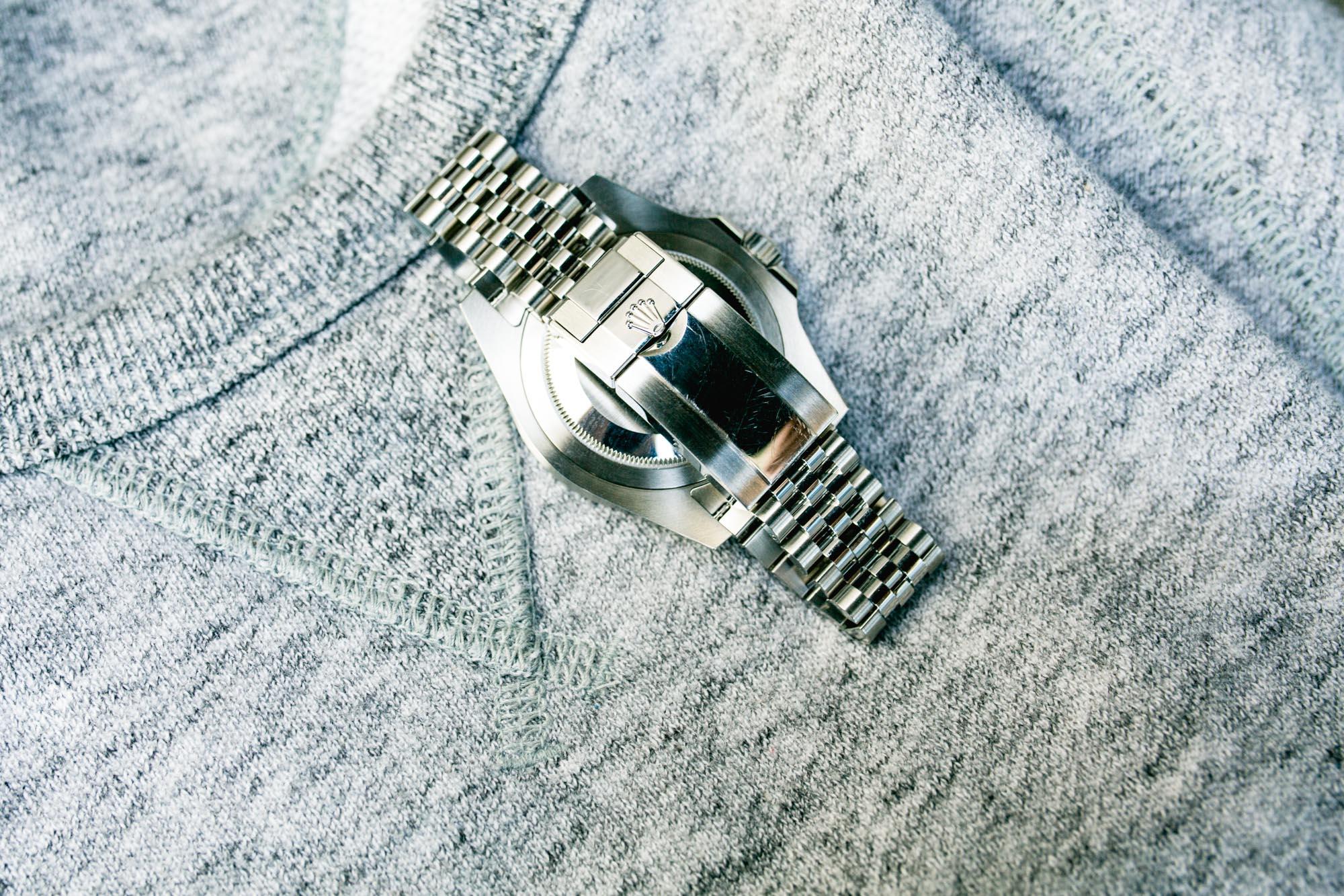 Rolex GMT-Master II Ref 126710BLRO - Boucle