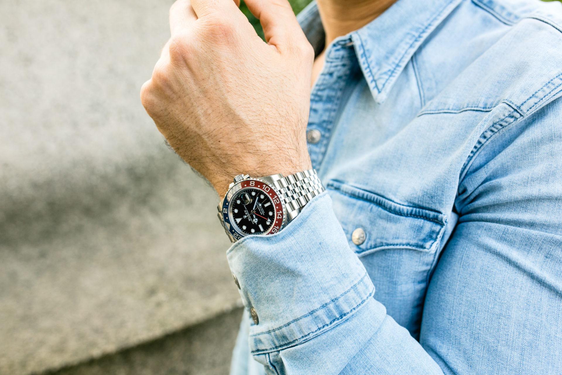 Rolex GMT-Master II Ref 126710BLRO - Style