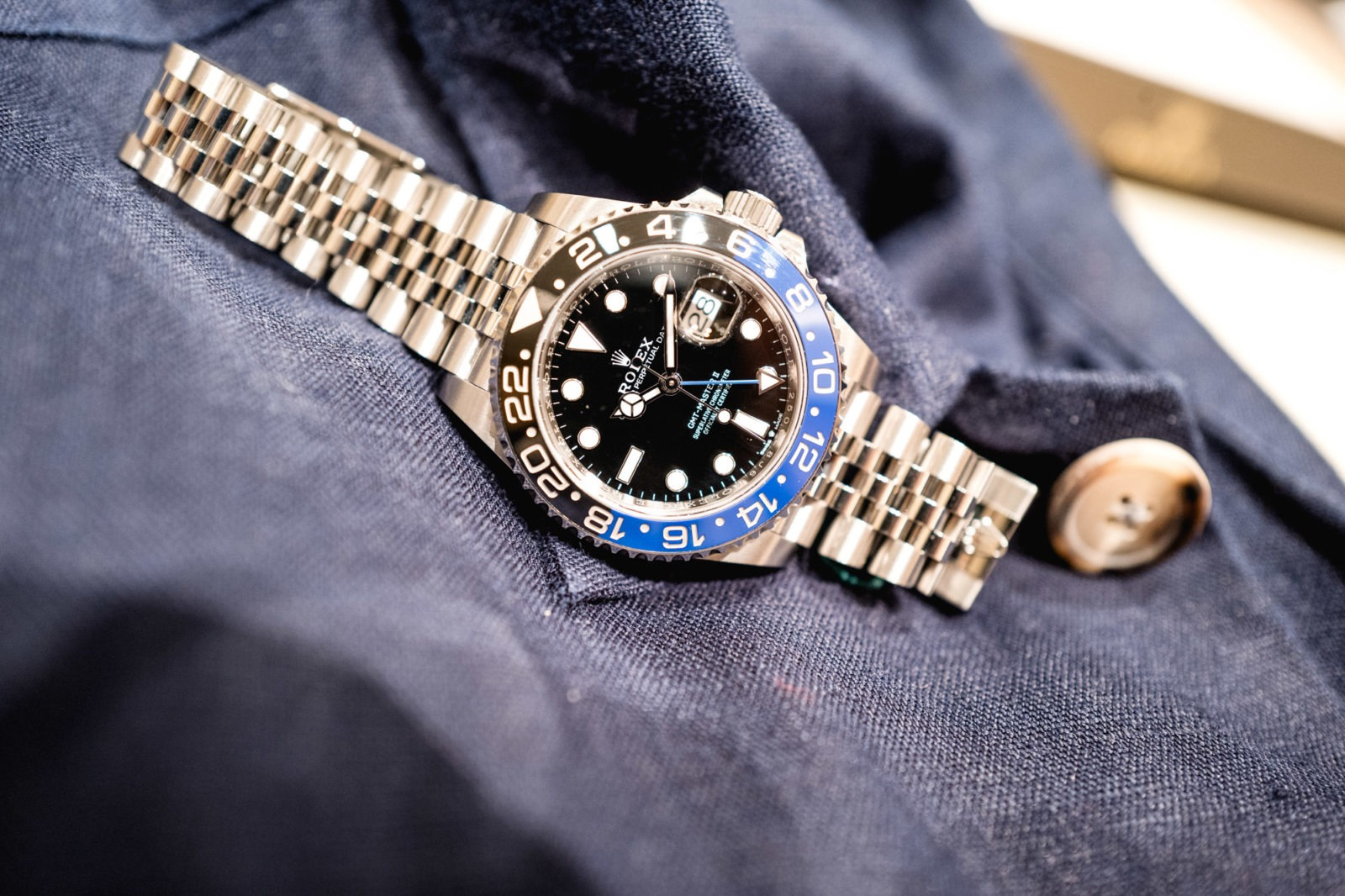 Rolex GMT-Master II Batman - Baselworld 2019
