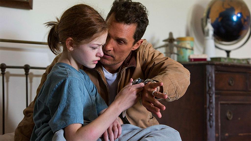 Interstellar - Murph et Cooper (Mackenzie Foy et Matthew McConaughey)