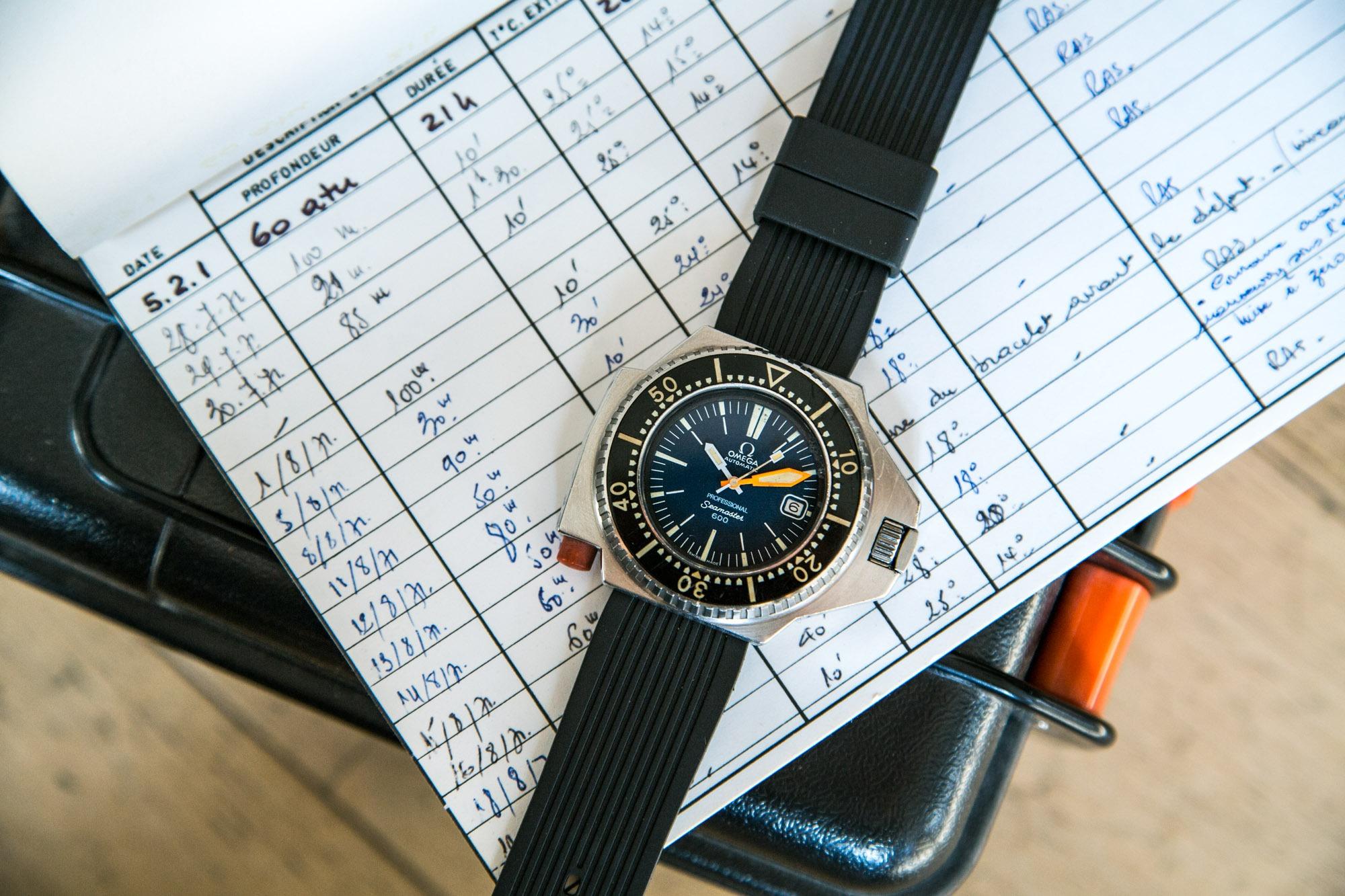 Omega Seamaster 600 Ploprof Prototype - Leclere mdv - Vente aux enchères montres du 4 juin