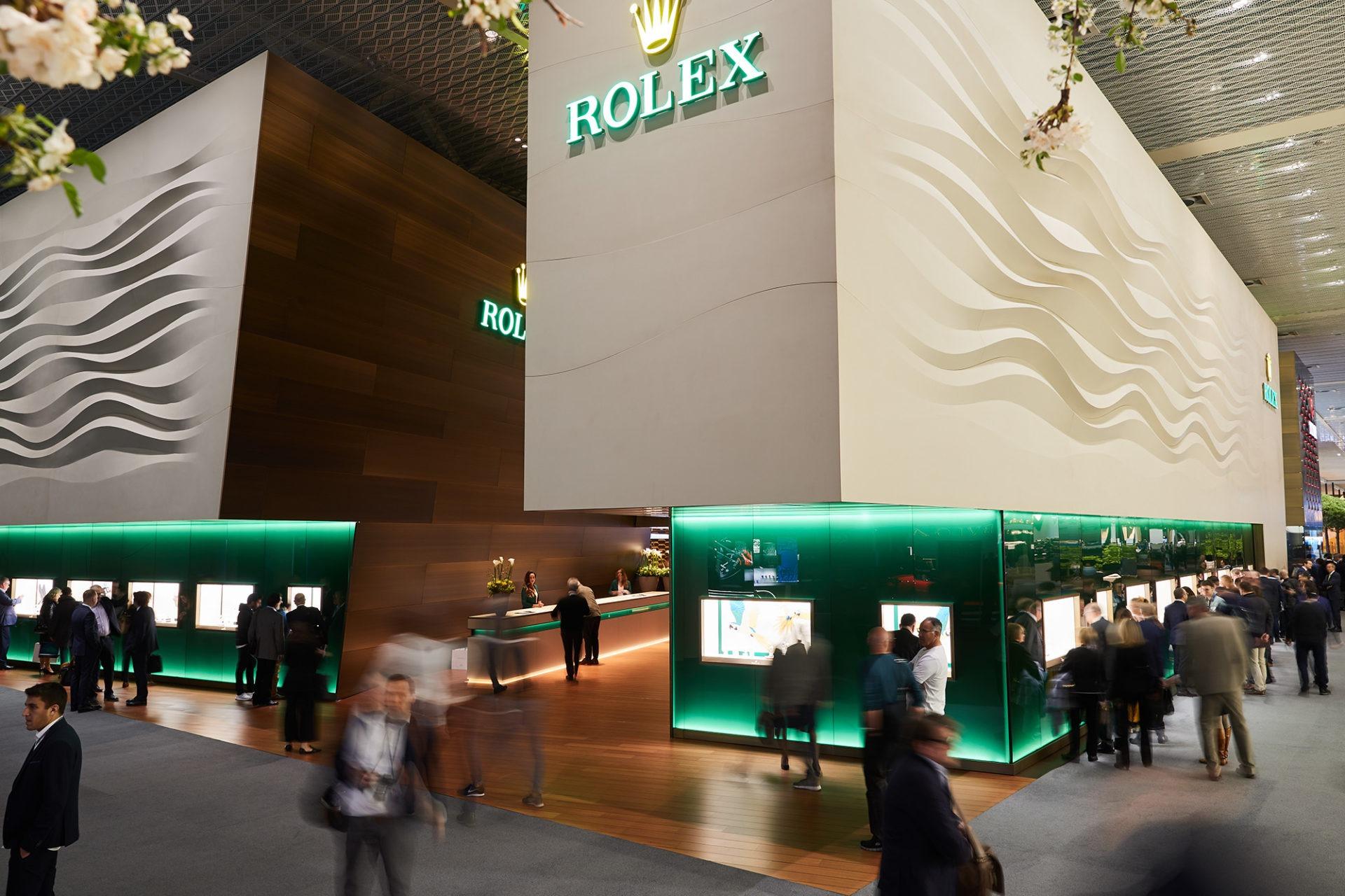 Baselworld 2019 - Stand Rolex et Tudor - Crédits Volker Renner