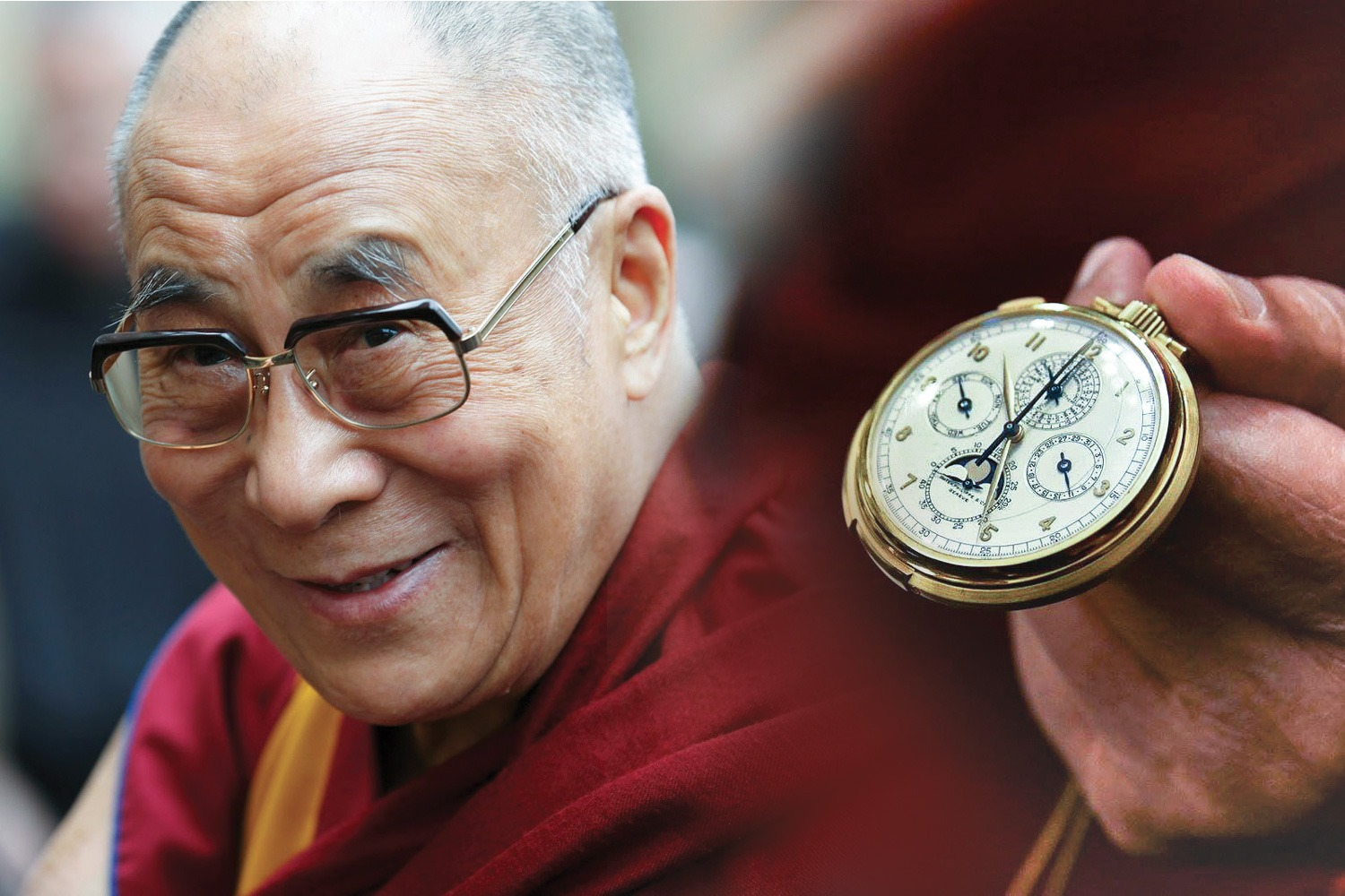 A humble crown: The Dalai Lama's passion for watches