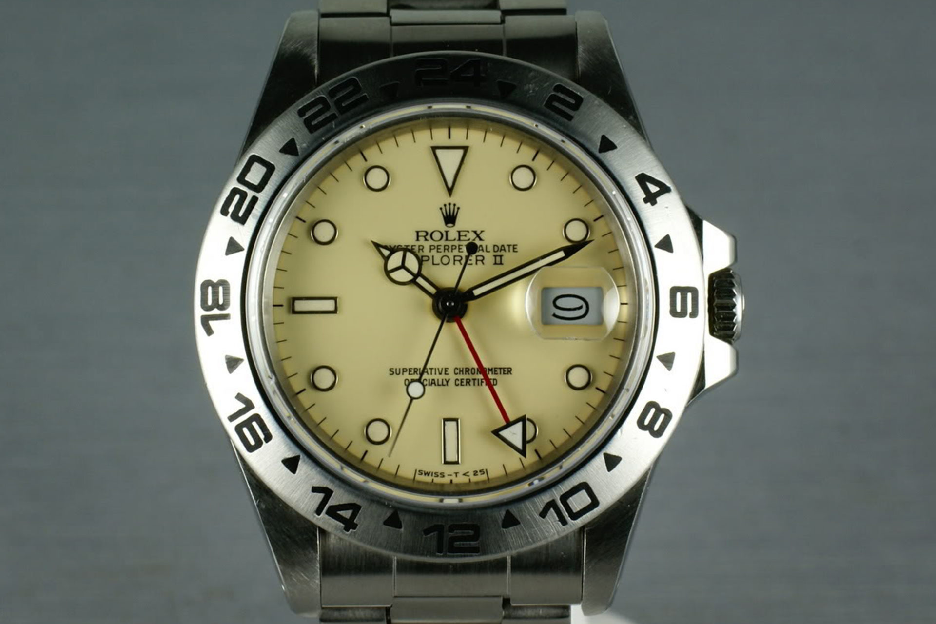 Rolex Explorer II Ref.16550 (Source : HQ Milton)