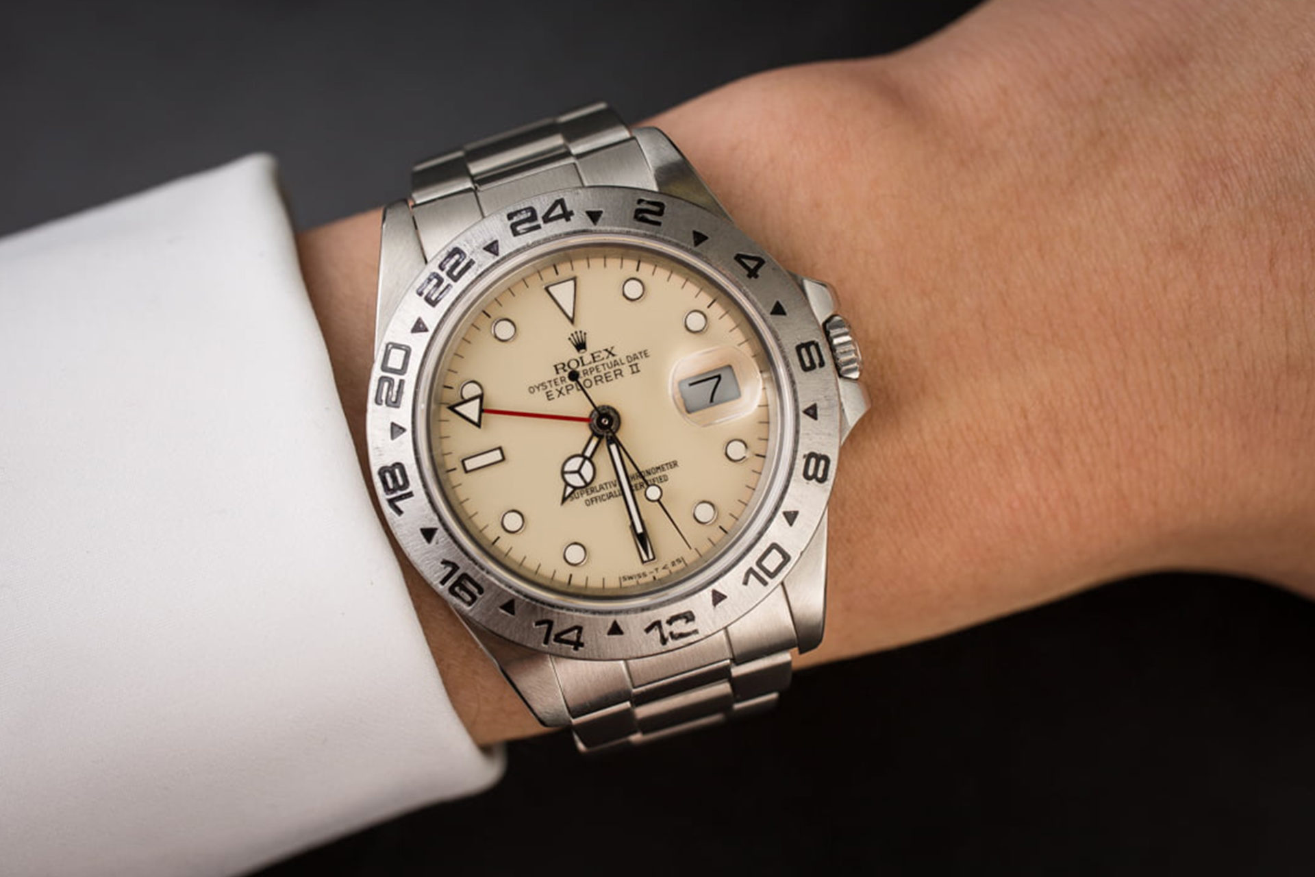Rolex Explorer II Ref.16550 (Source : Bob's Watches)