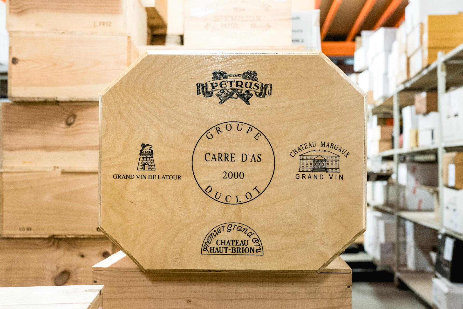 Tajan - Vente de vins et spiritueux du jeudi 25 avril 2019 - Caisse Carré d'As 2000