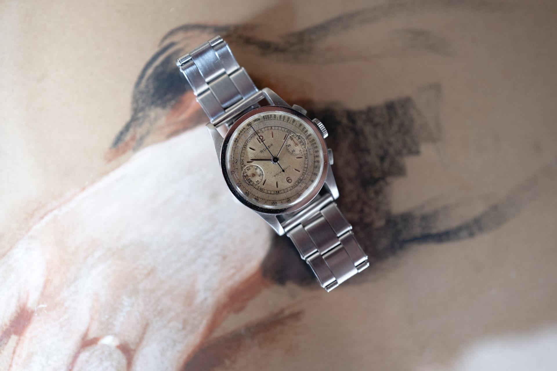 Rolex Chronographe Ref. 2811 - Vente aux enchères LECLERE du 6 juin
