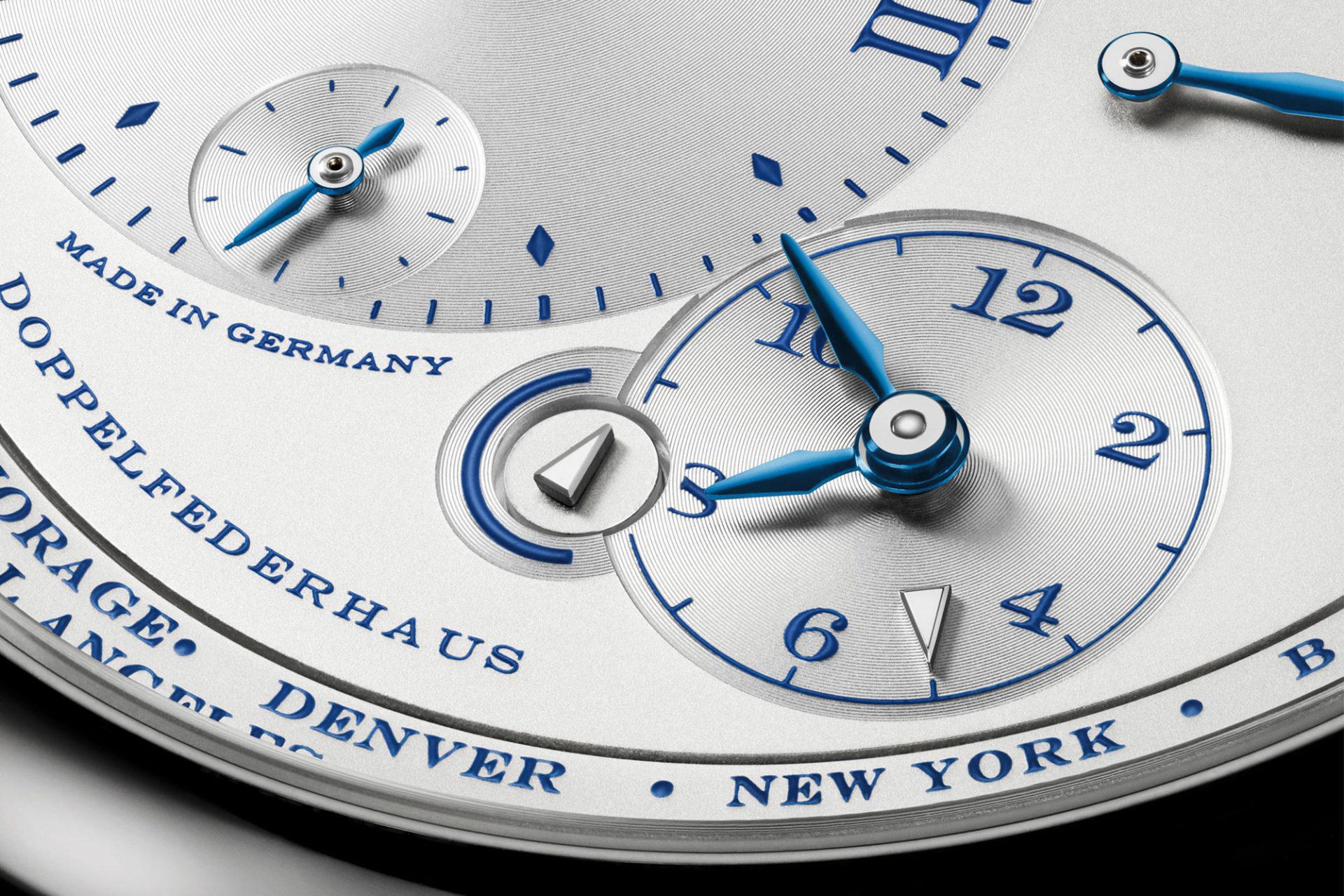 A. Lange & Söhne Lange 1 Timezone - 25ème anniversaire