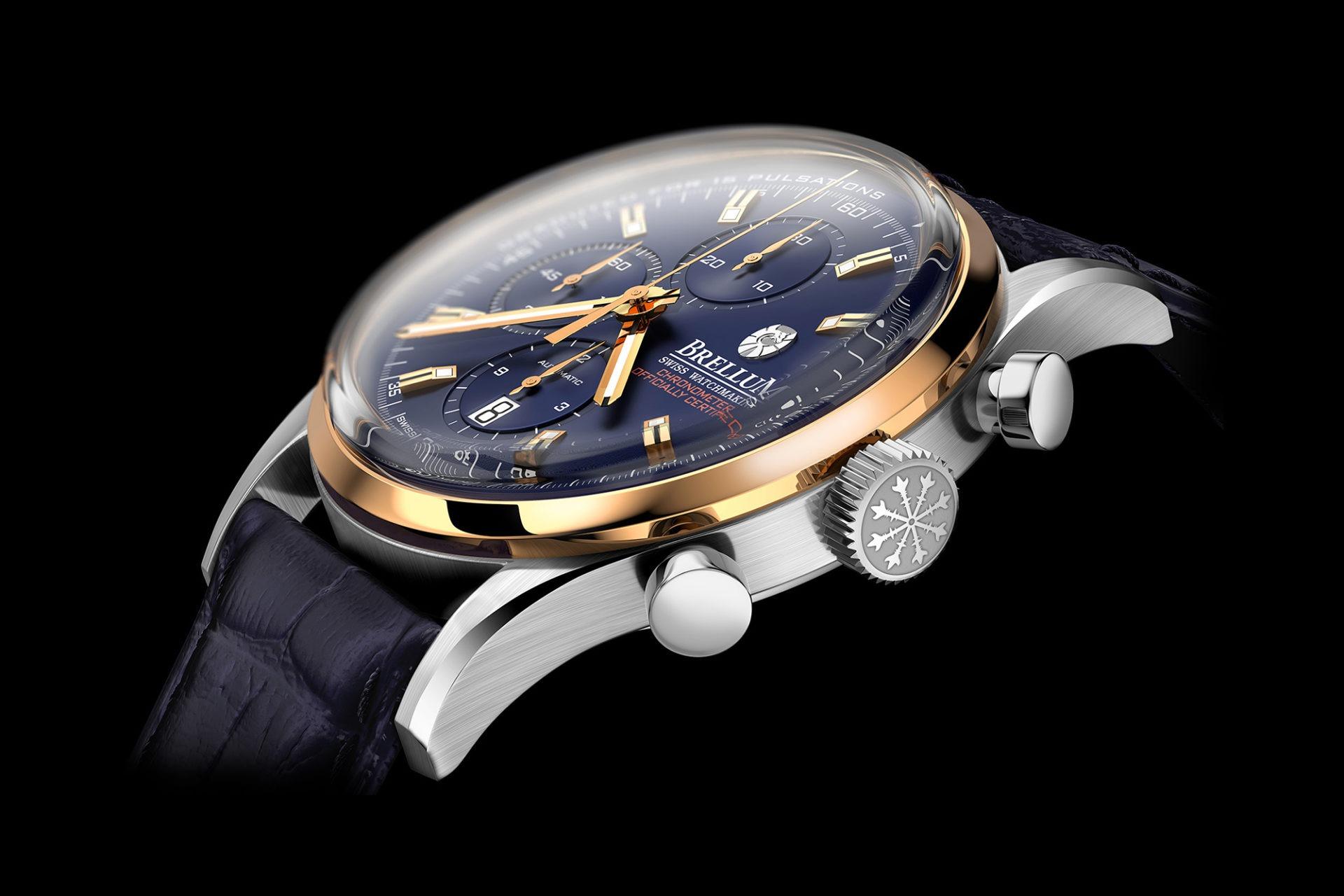Florian Benedetto - L'horloger 3D - Chronographe Brellum