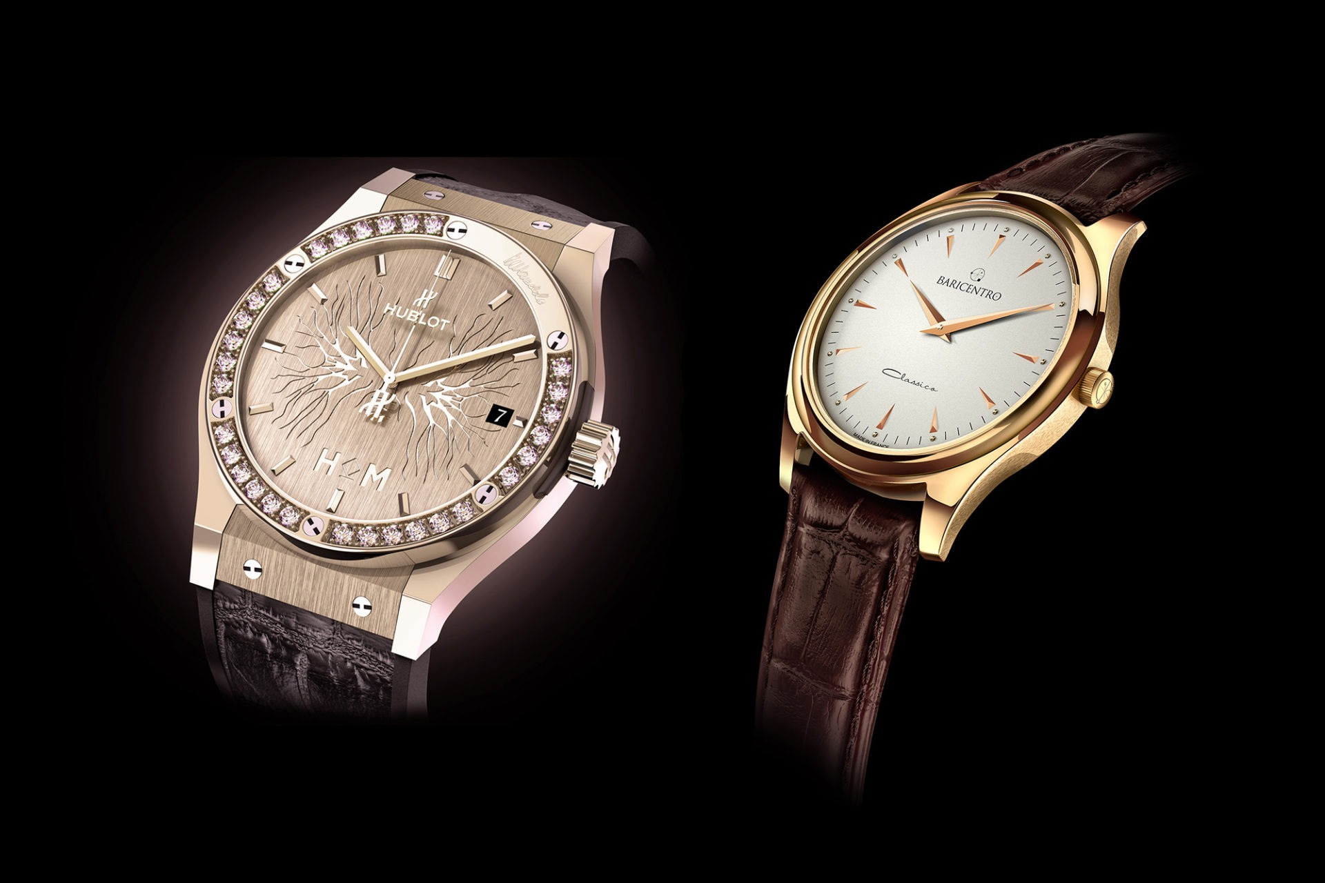 Florian Benedetto - L'horloger 3D - Hublot et Baricentro