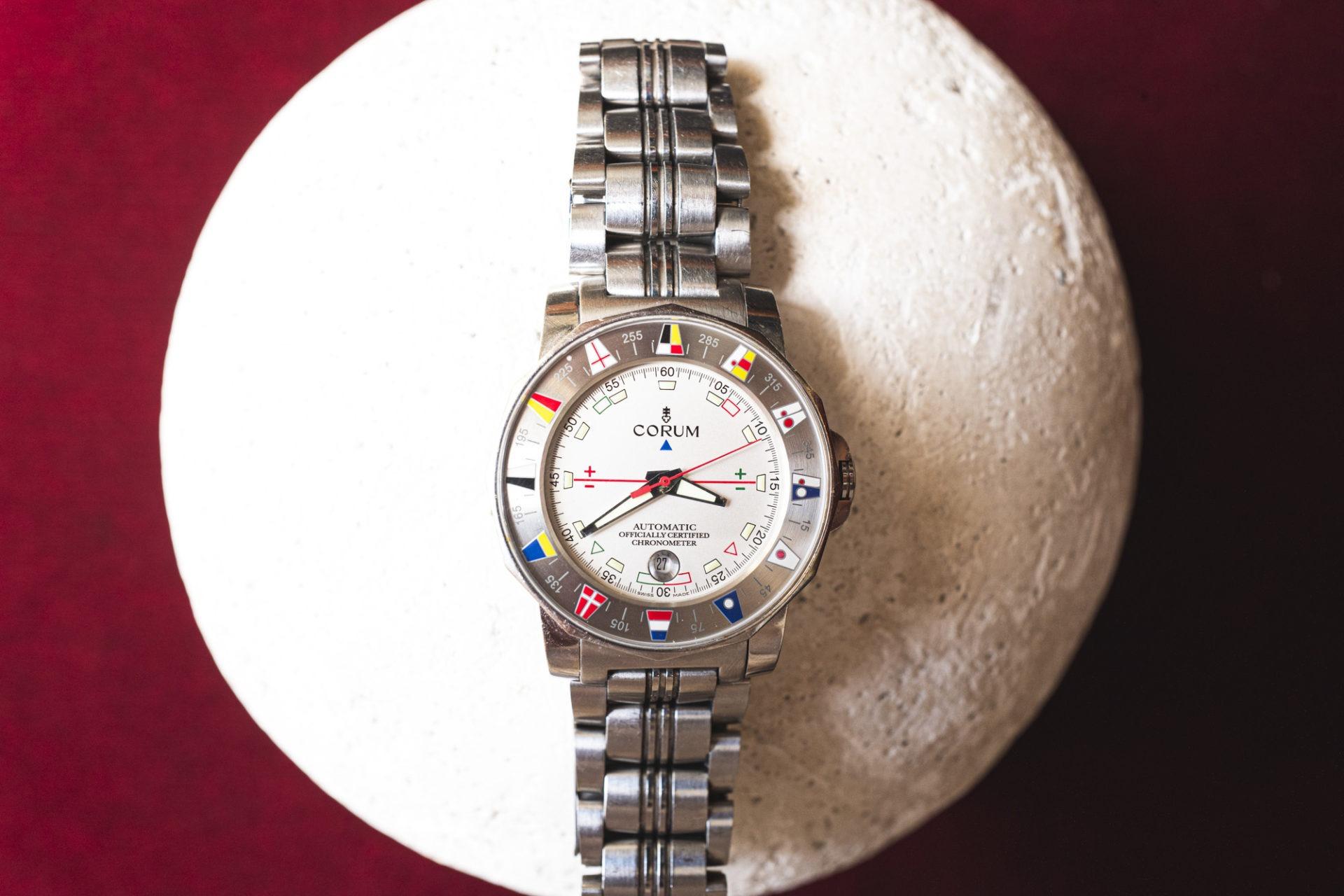 Corum Admiral's Cup - Vente importante de montres de collection par Tajan le 2 juillet