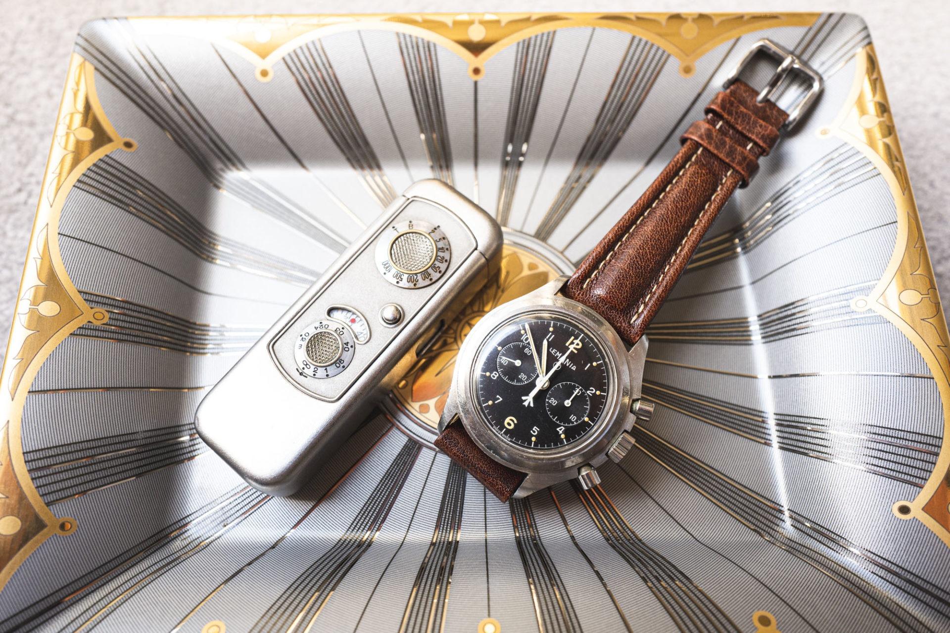 Chronographe Lemania et Minox Riga - Vente importante de montres de collection par Tajan le 2 juillet