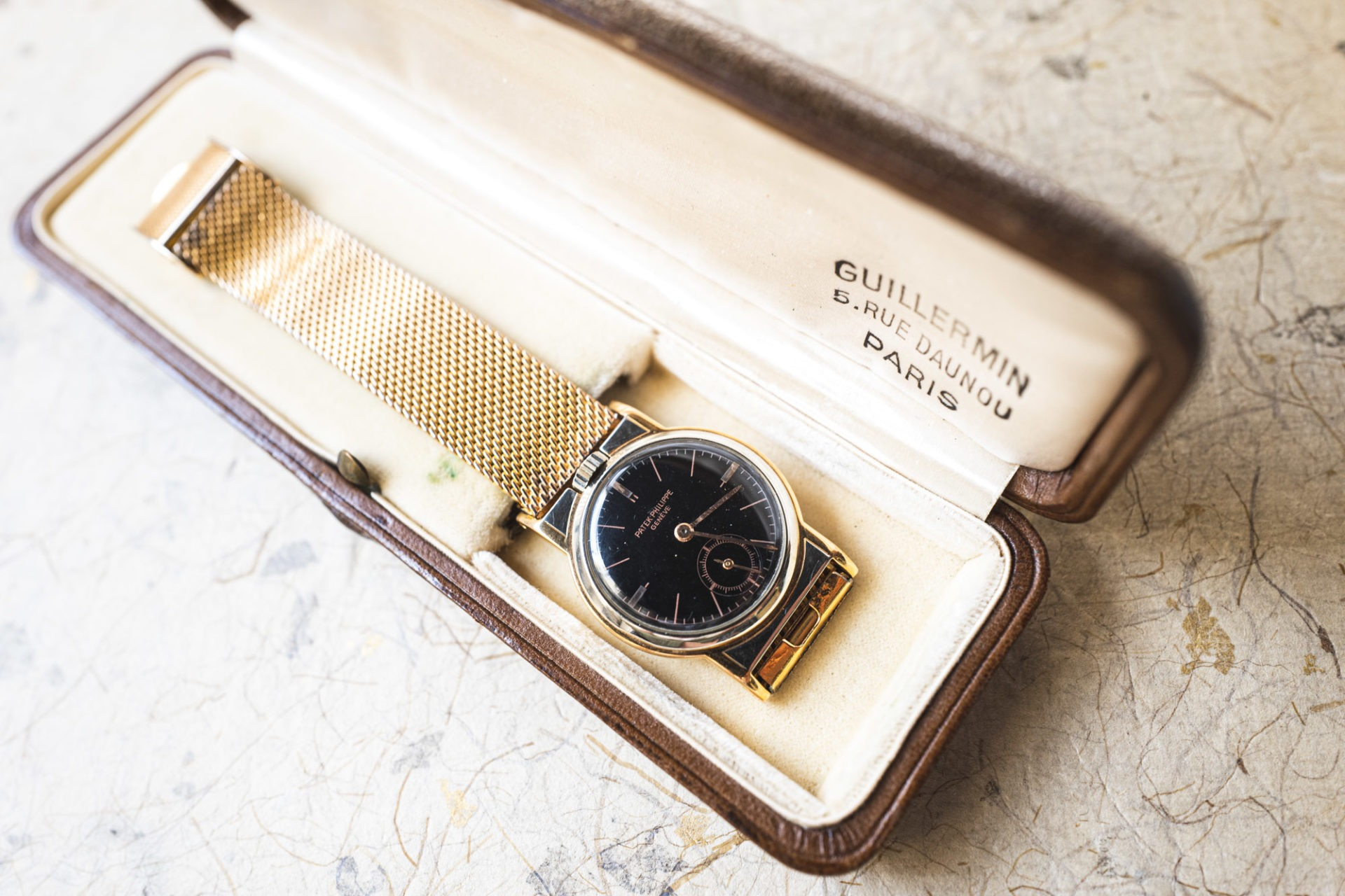 Patek Philippe Ref. 136 - Vente importante de montres de collection par Tajan le 2 juillet