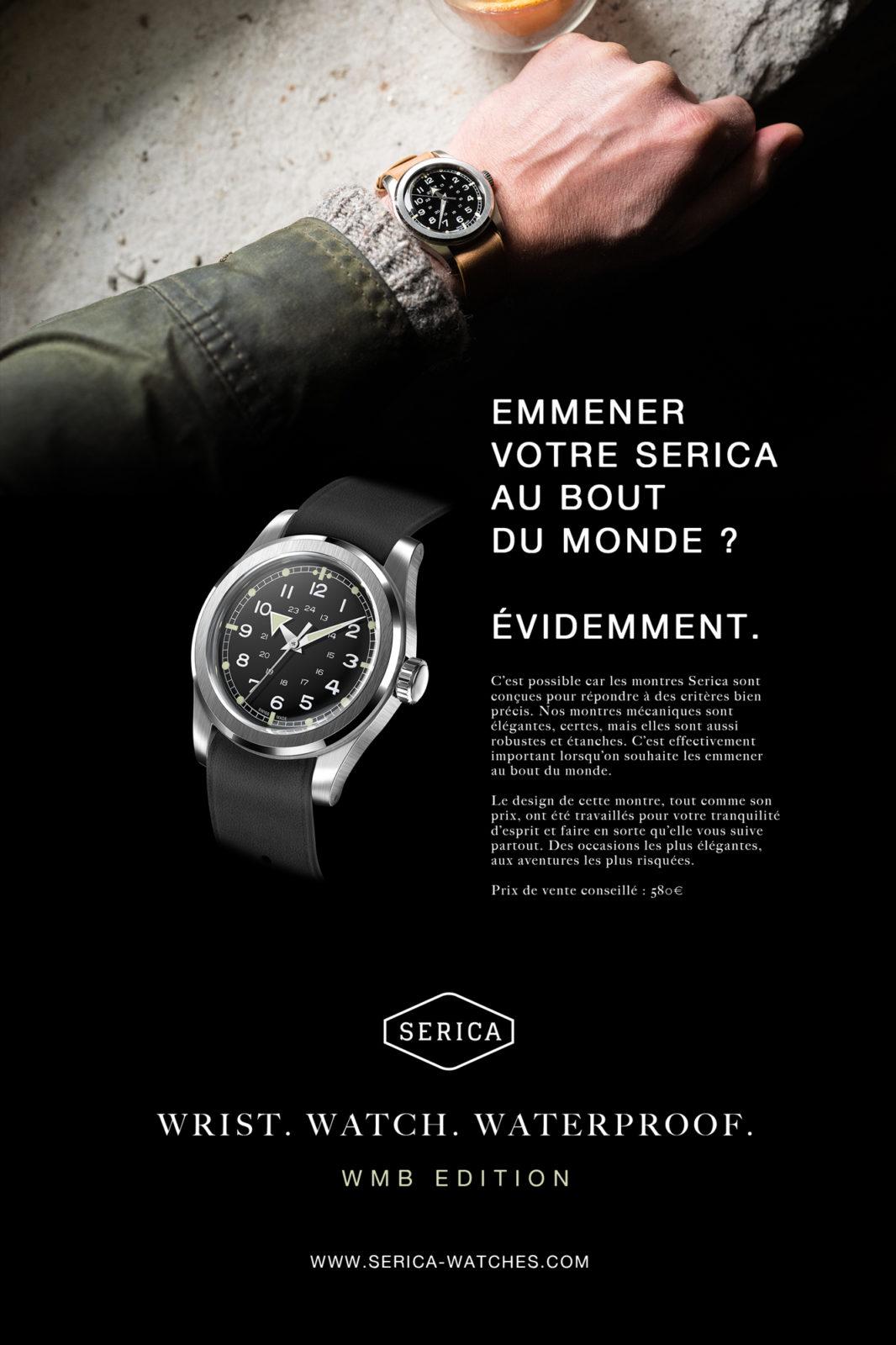 """Publicité SERICA - """"Bout du Monde"""""""