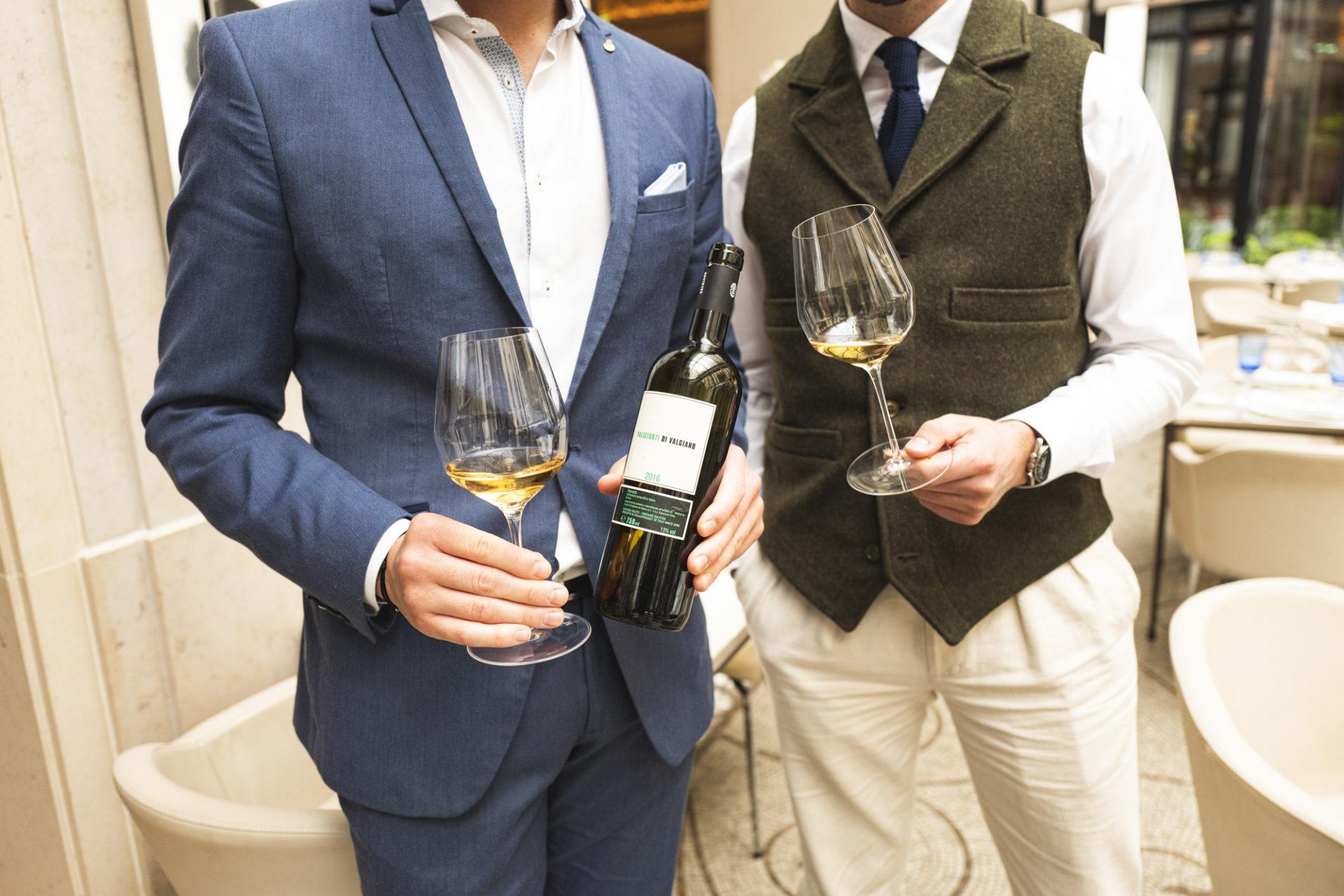 Sélection de vin au restaurant Le George - Tenuta di Valgiano