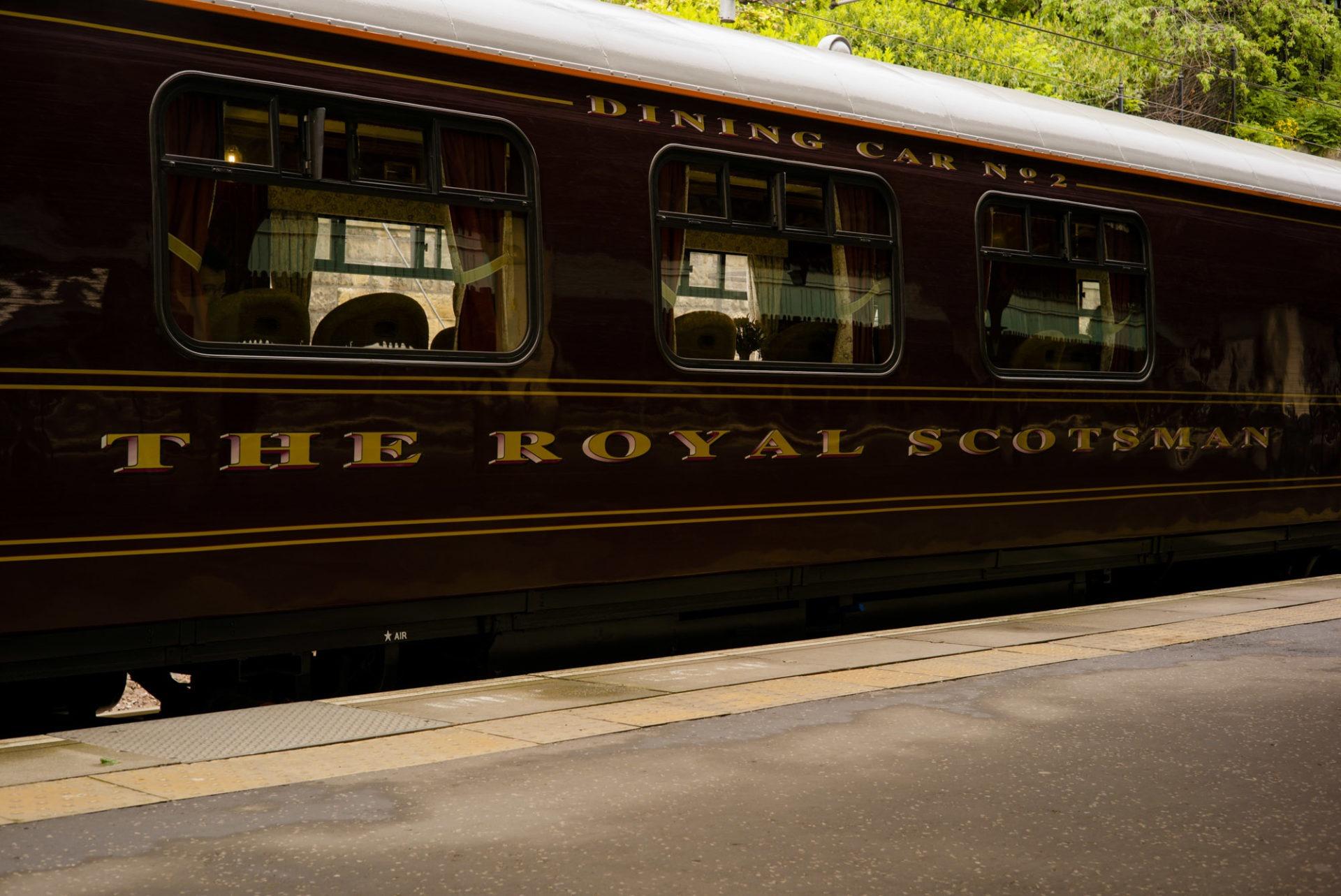 The Belmond Royal Scotsman