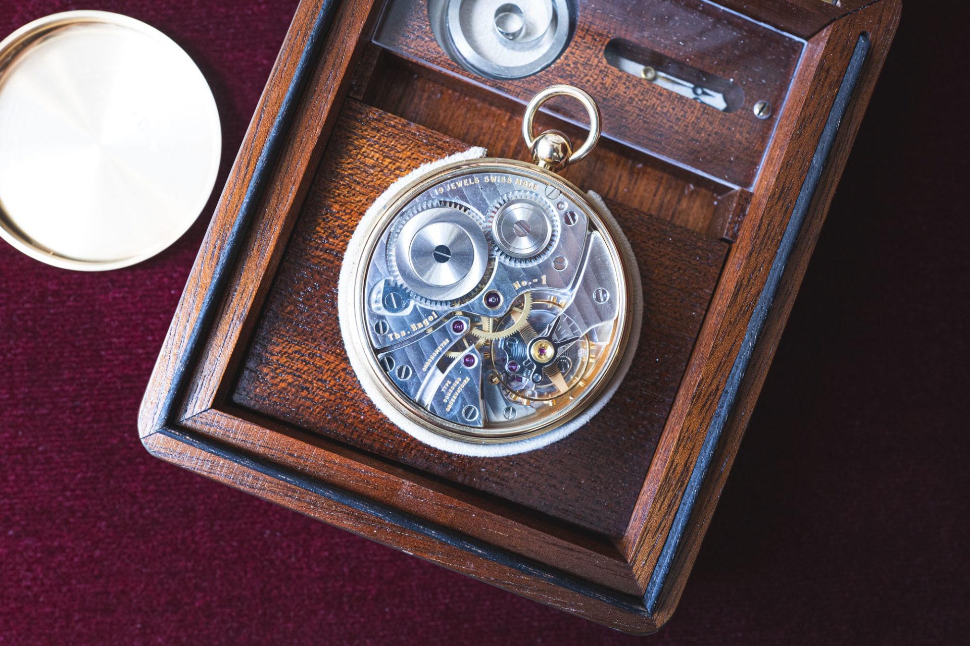 Chronomètre N°1 par Thomas Engel - Vente importante de montres de collection par Tajan le 2 juillet