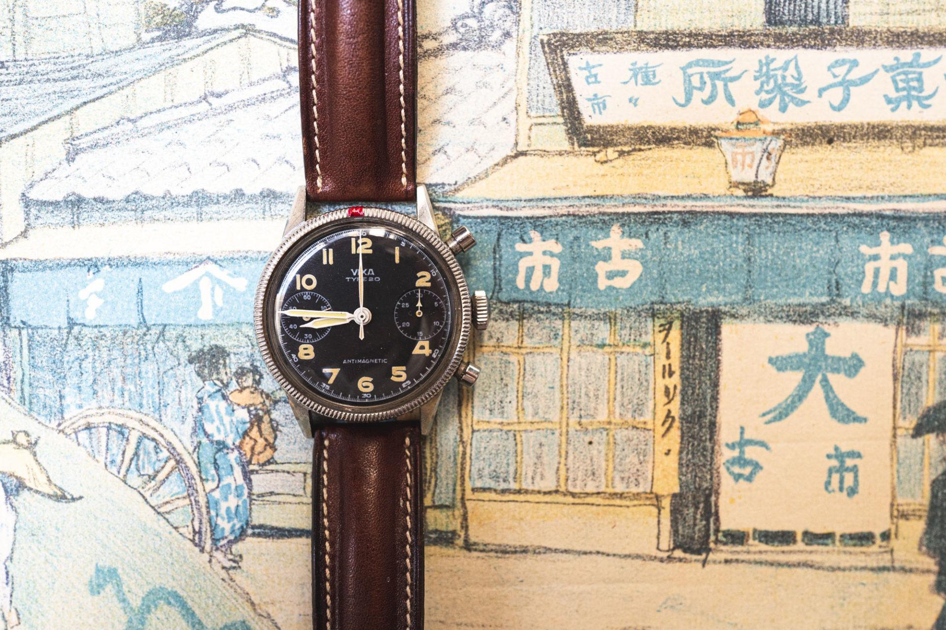 Vixa Type 20 - Vente importante de montres de collection par Tajan le 2 juillet