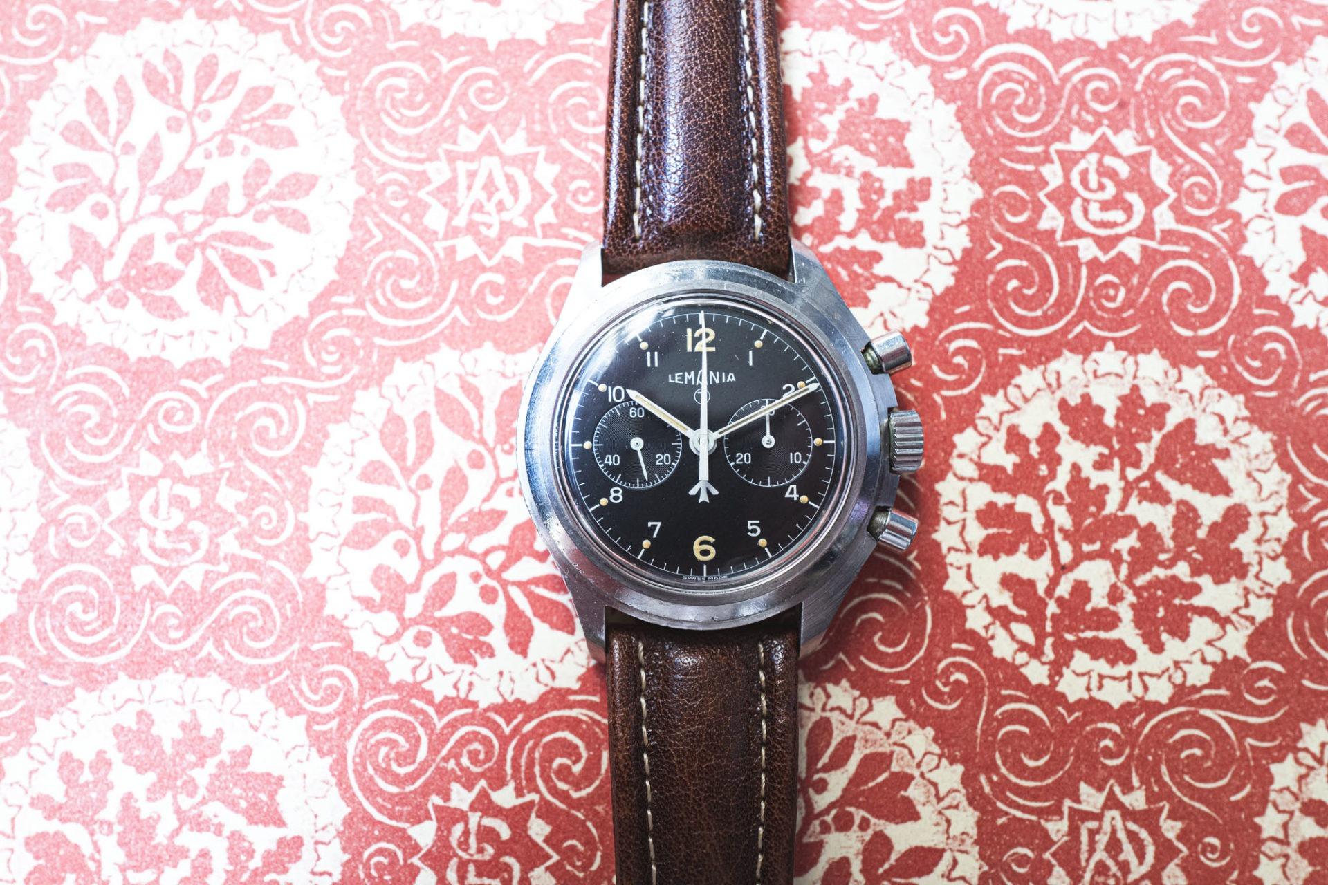 Chronographe Lemania - Vente importante de montres de collection par Tajan le 2 juillet