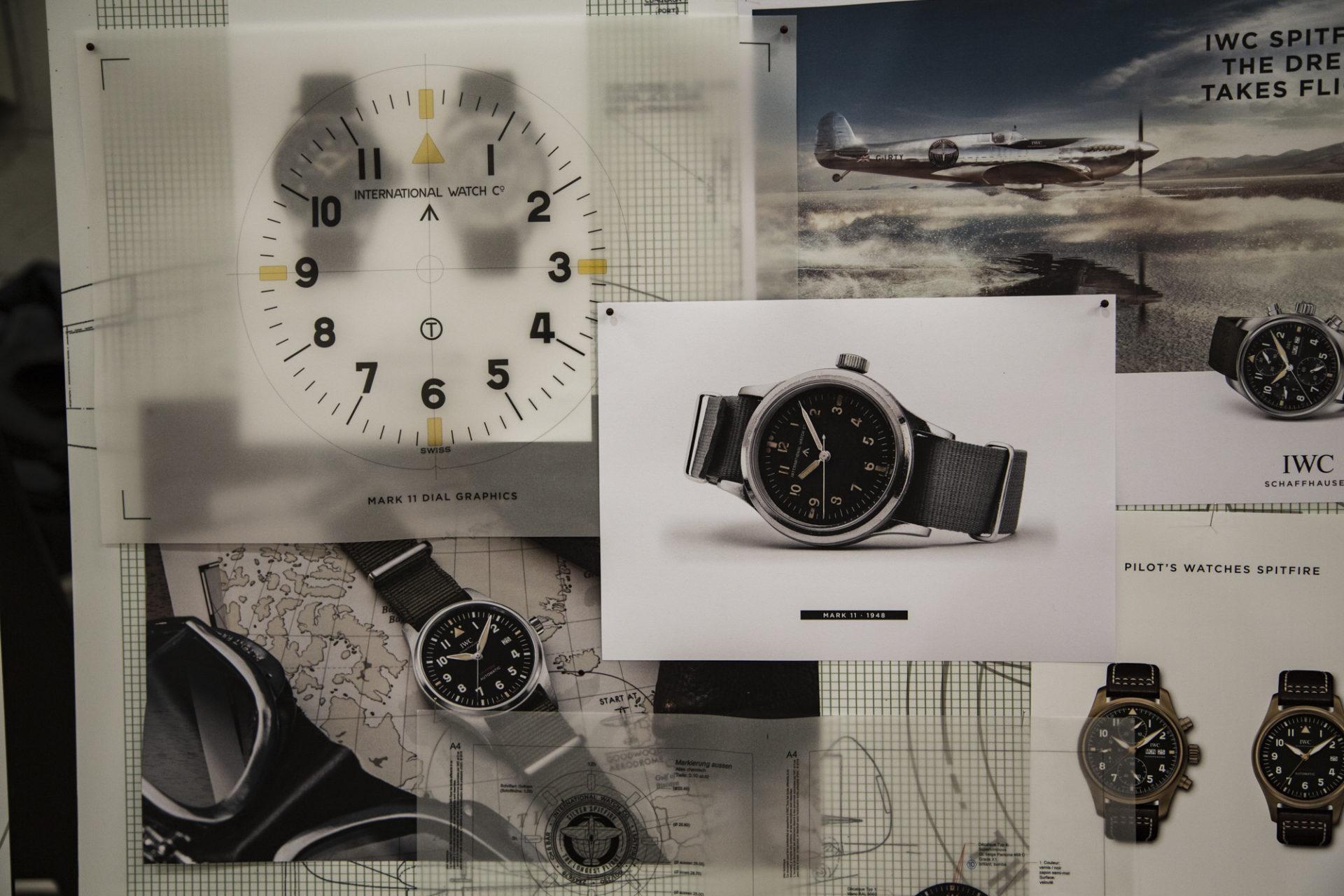 Evolution des montres de Pilote IWC - Mark 11
