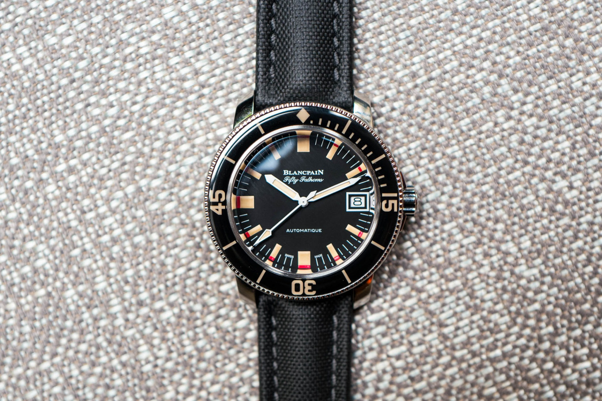 Blancpain Fifty Fathoms Barakuda 5008 - Focus
