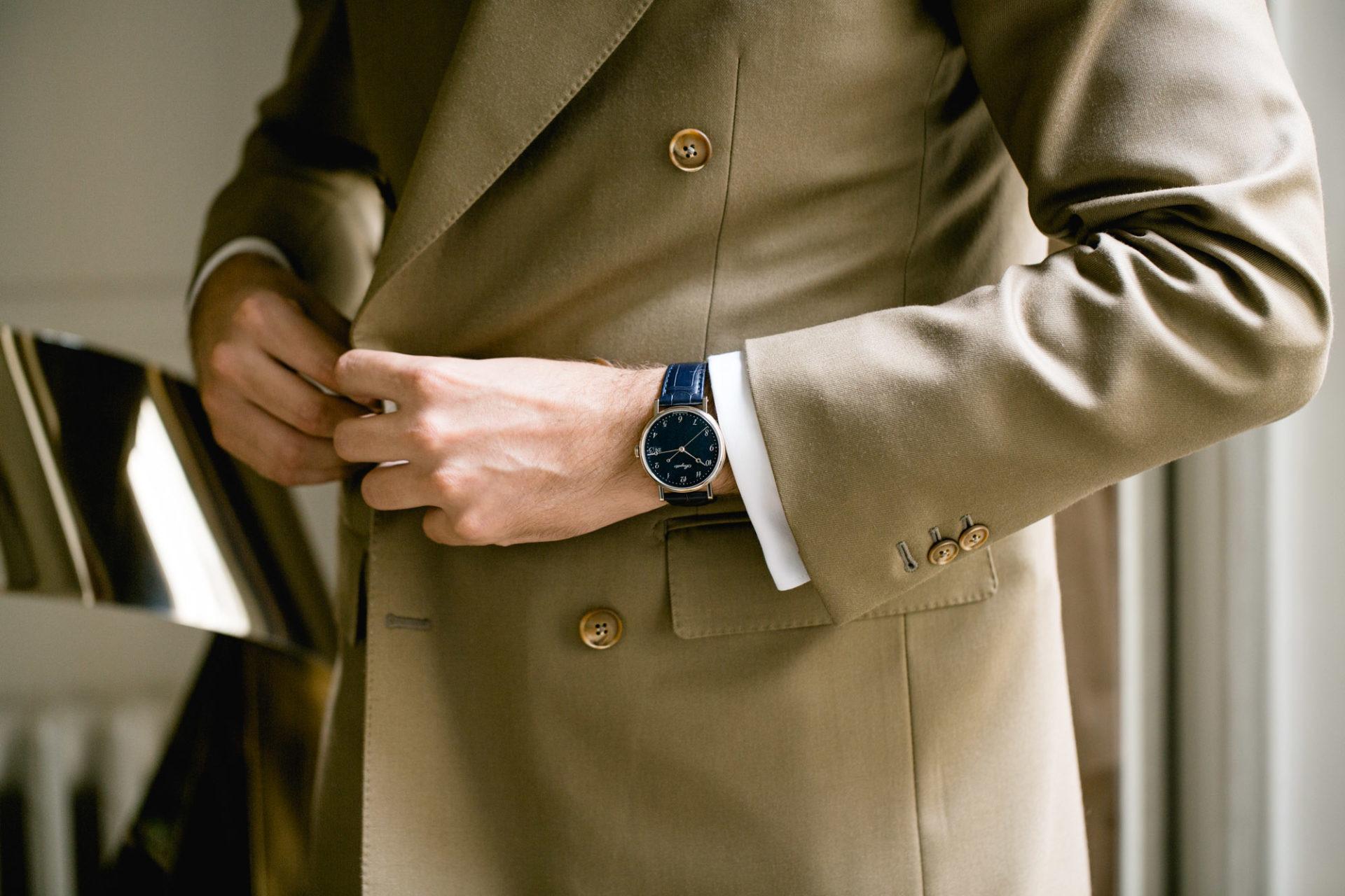 """Breguet Classique 5177 - Cadran Bleu émail """"Grand feu"""""""