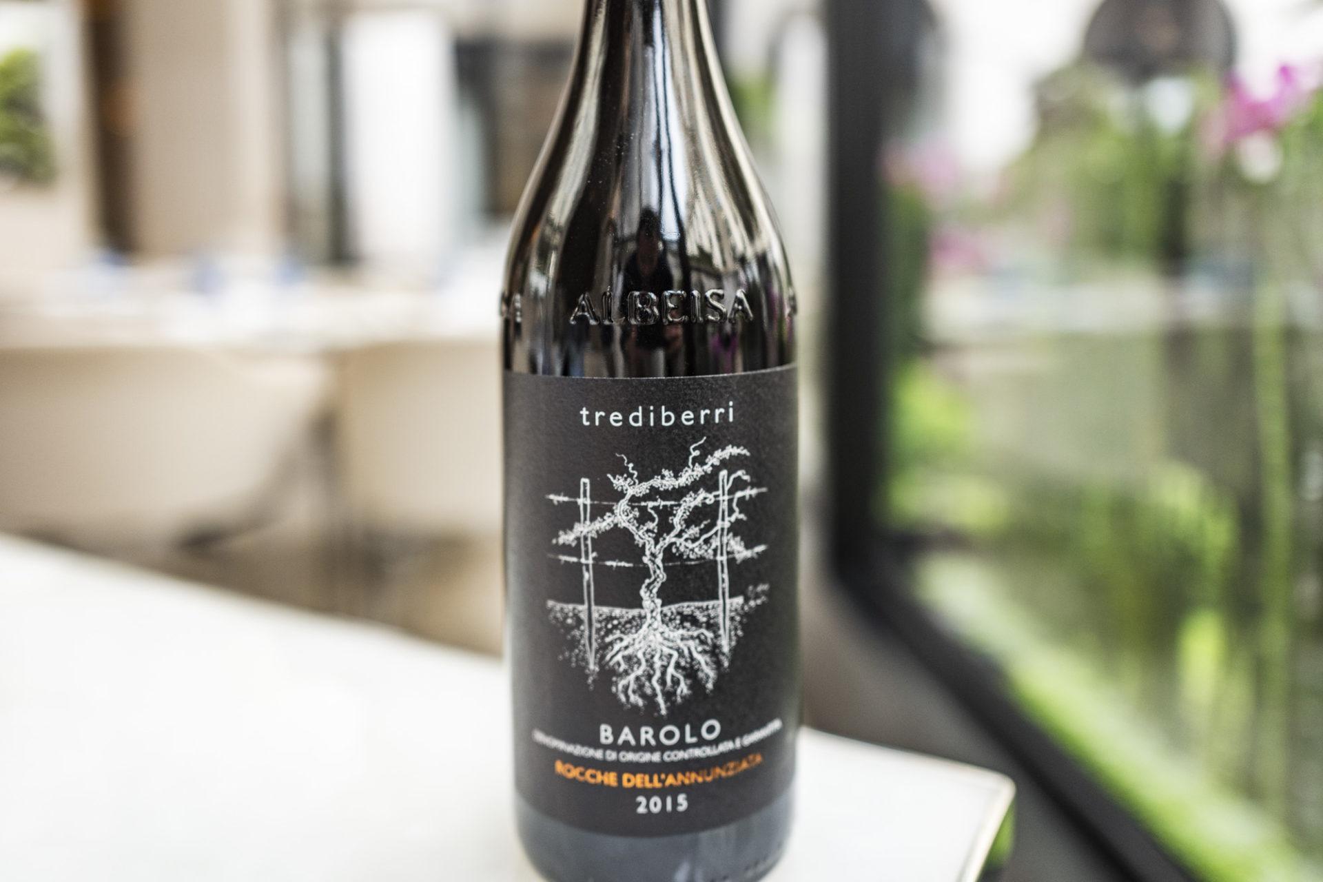 Sélection de vin au restaurant Le George - Barolo Rocche Dell'Annunziata 2015
