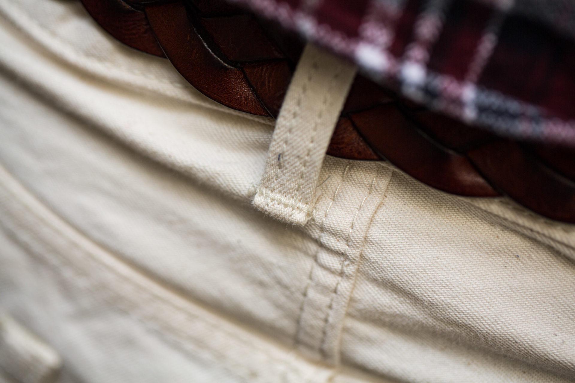 Jean Edwin Couleur naturelle (Non teint) - Couture renforcée