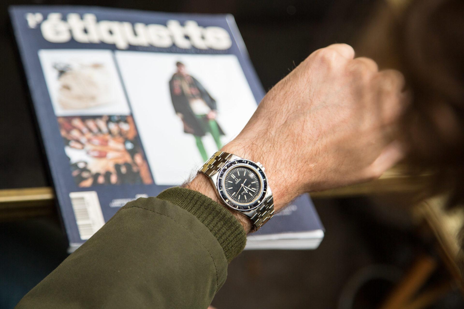Omega l etiquette magazine