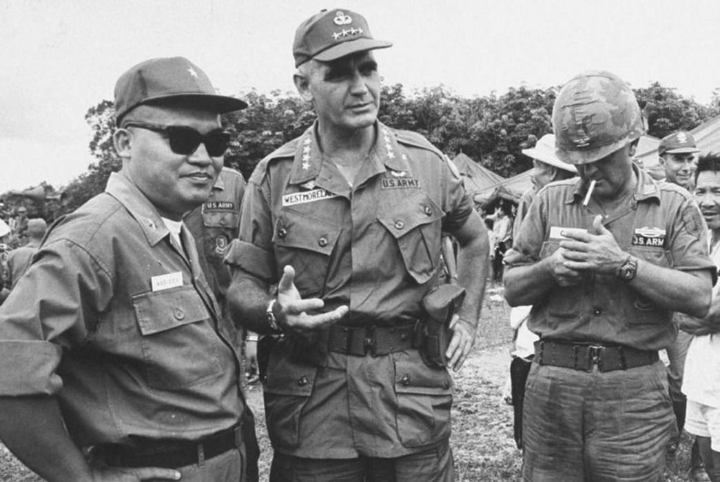 OG-107 Vietnam - Colonel William Westmorland