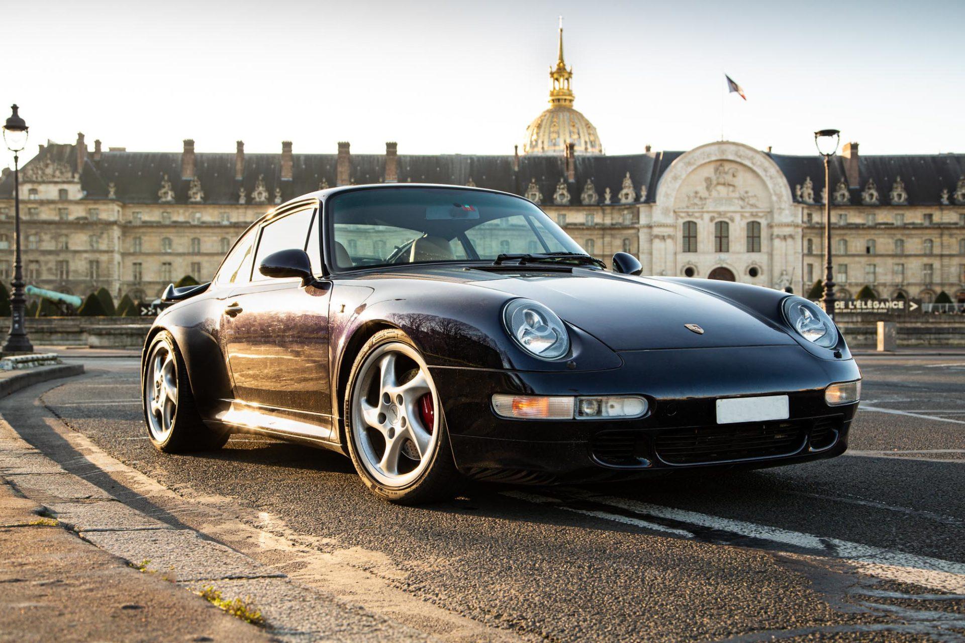Porsche 911 Type 993 Turbo - Avant