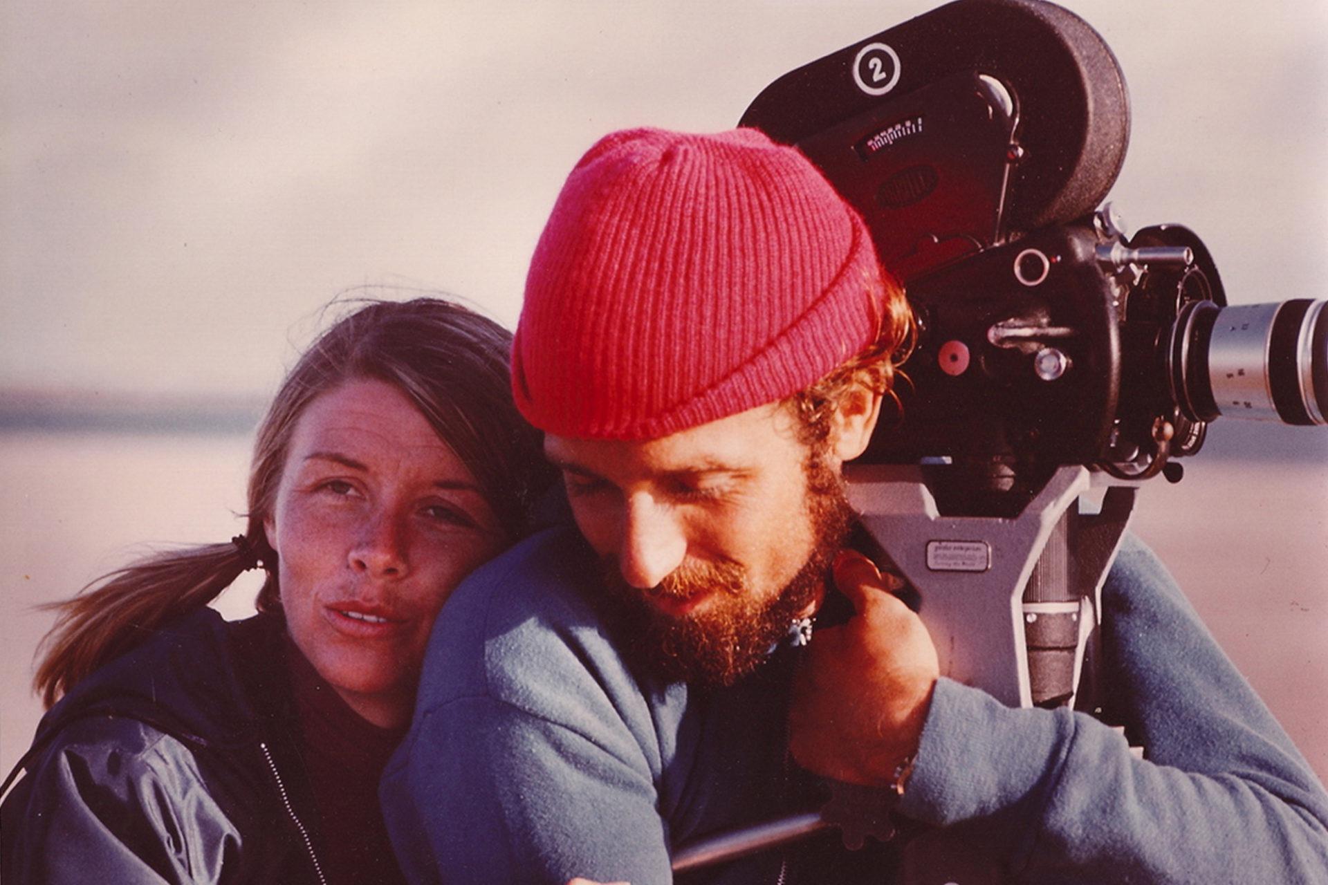 Philippe-Pierre Cousteau et sa femme Janice