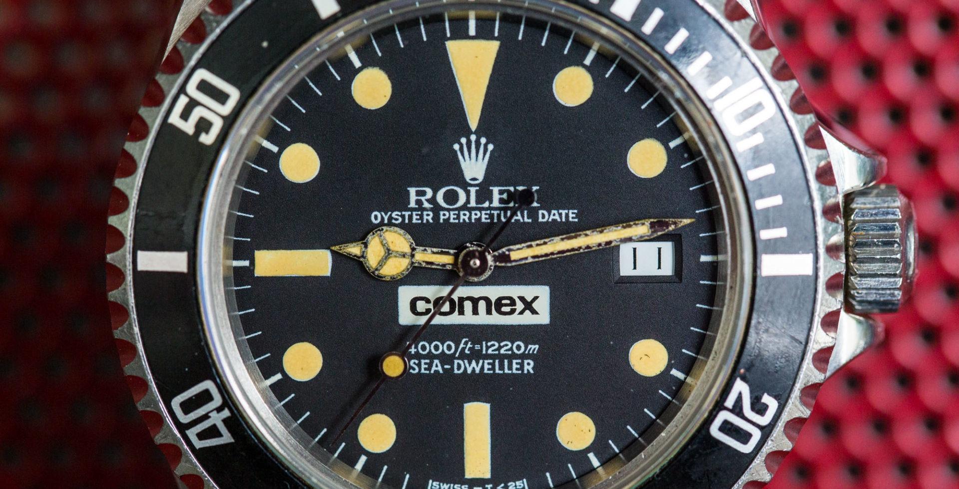 ROLEX SEA-DWELLER 16660 COMEX