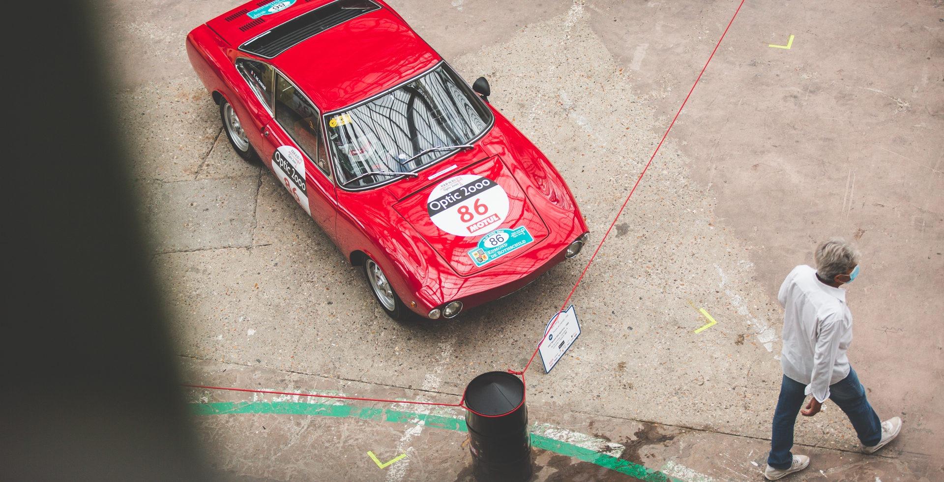 Le Tour Auto en Moretti Sportiva ?