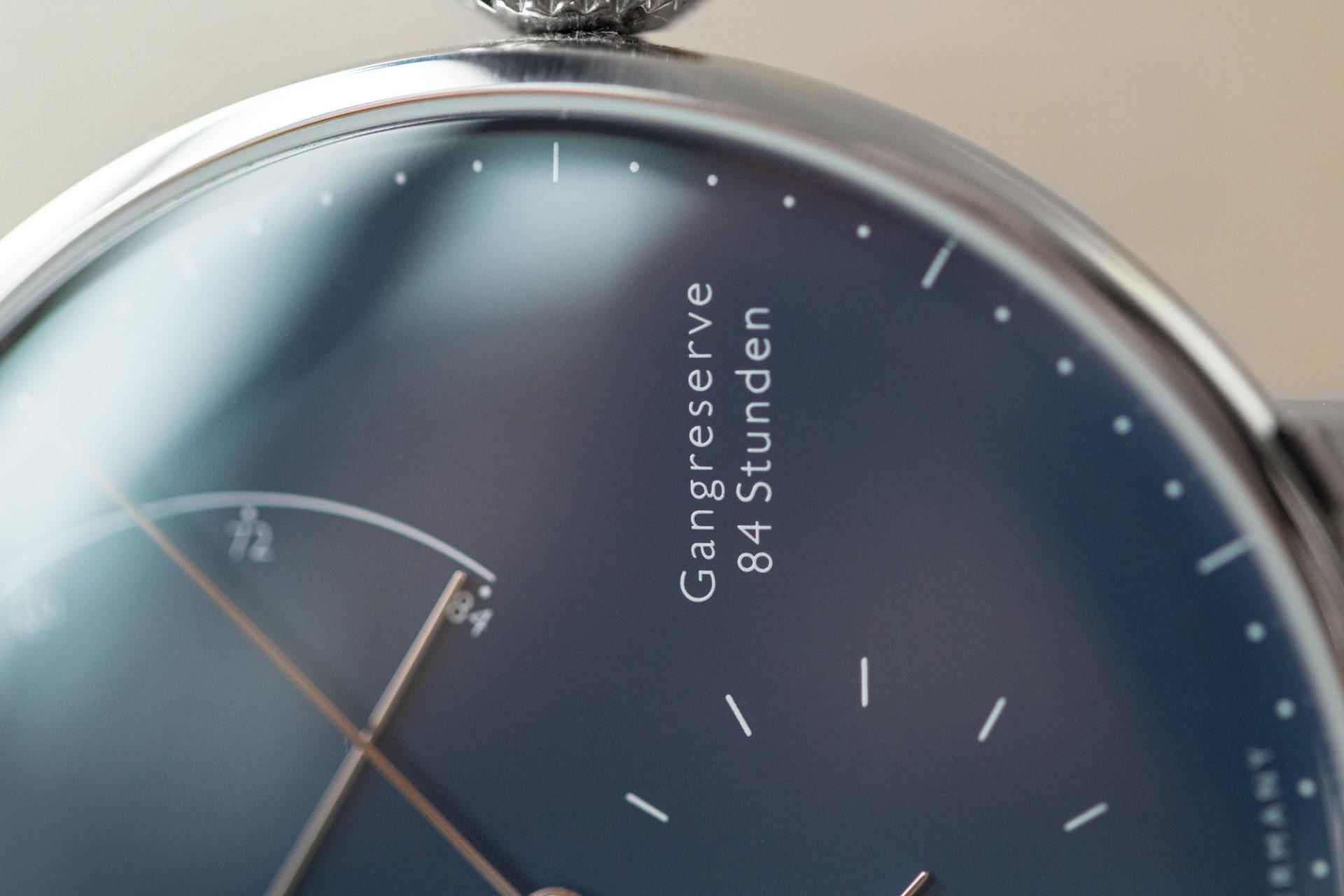 Nomos Glashütte Lambda 175 ans d'horlogerie à Glashütte - Calibre DUW 1001