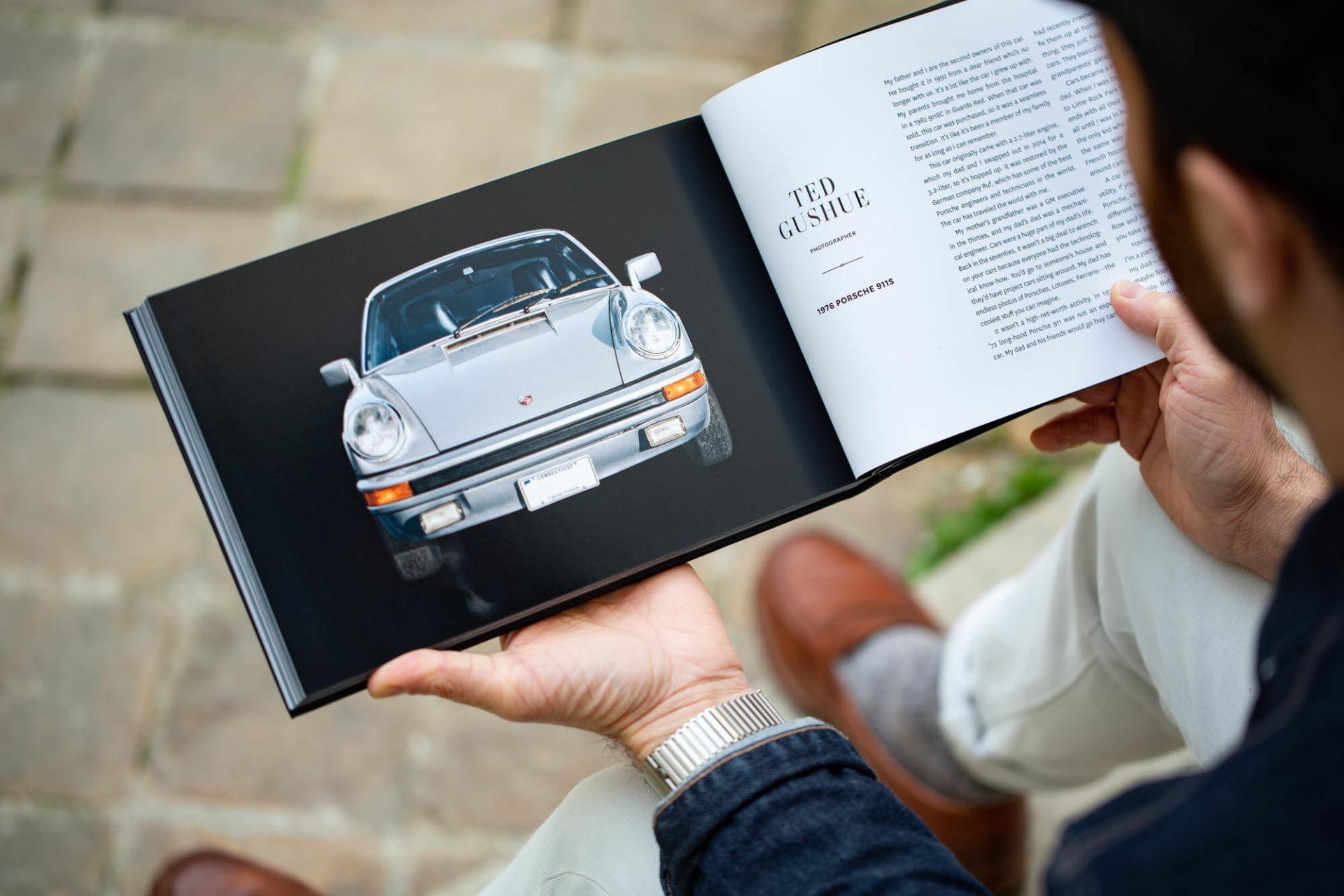 A man & his car - Chez Joseph Bonnie